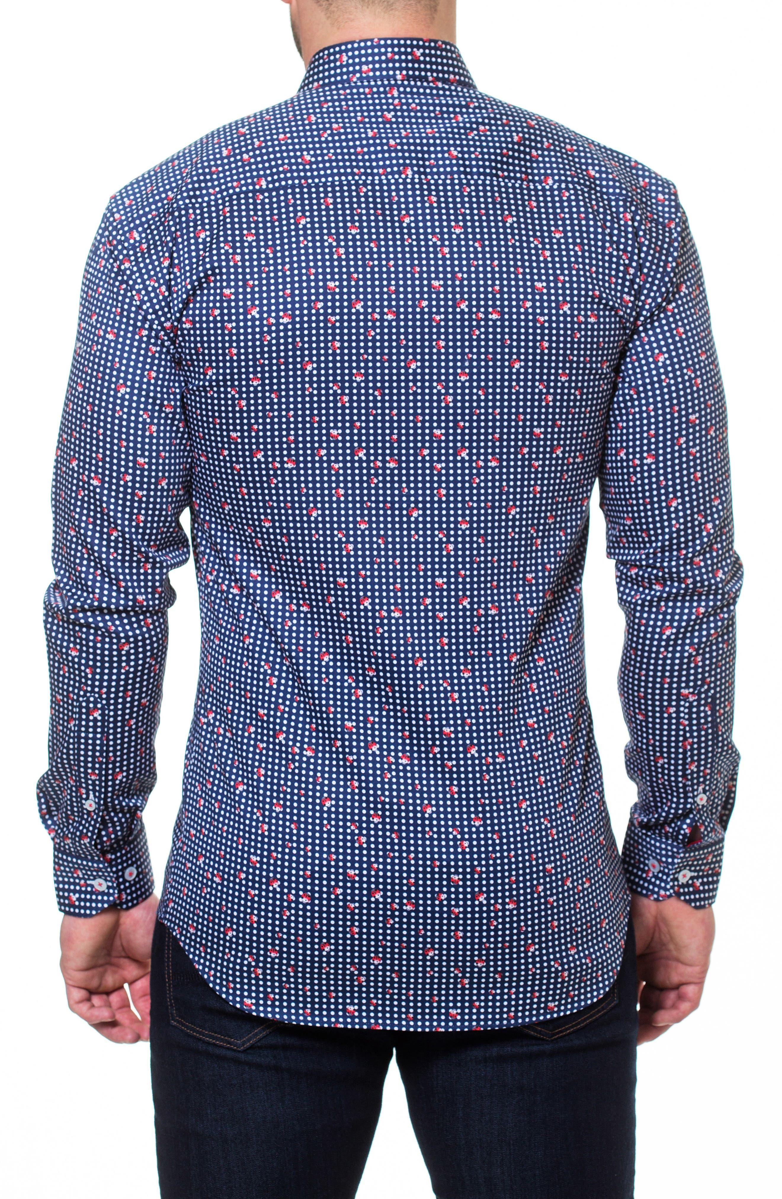 Luxor Ladybug Sport Shirt,                             Alternate thumbnail 2, color,                             420