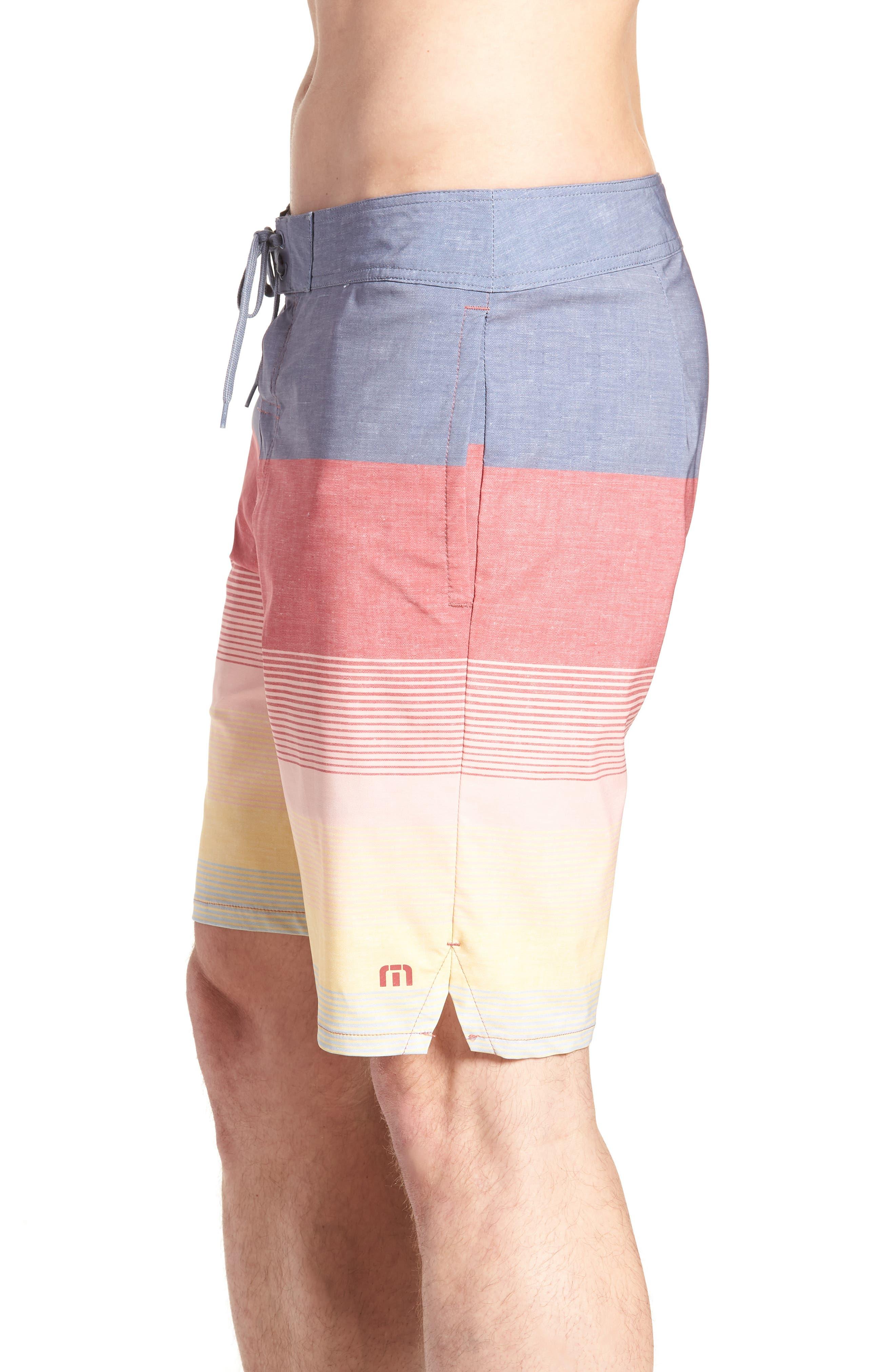 Seegrid Regular Fit Board Shorts,                             Alternate thumbnail 6, color,