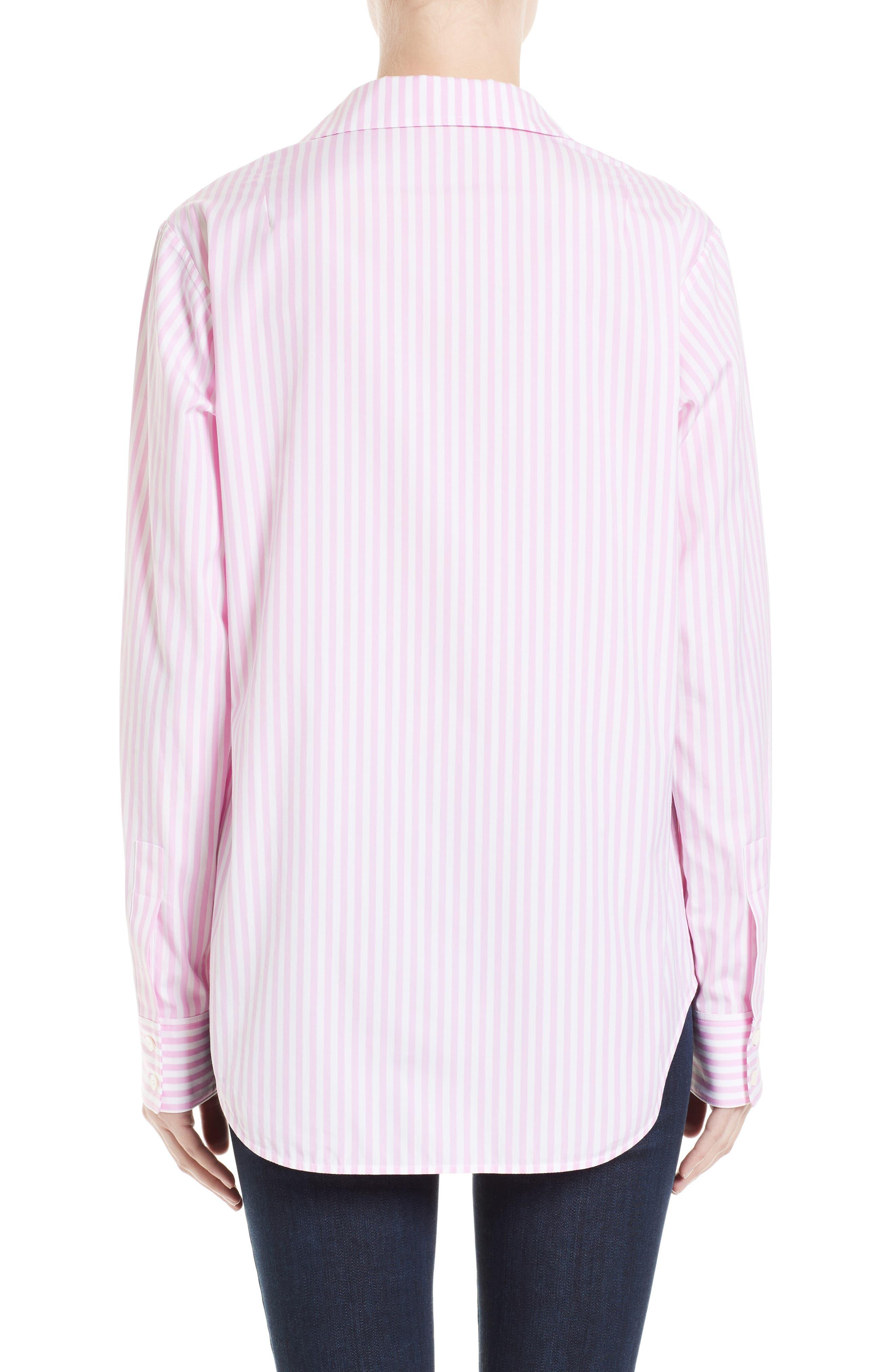 Cotton Grandad Shirt,                             Alternate thumbnail 2, color,                             650