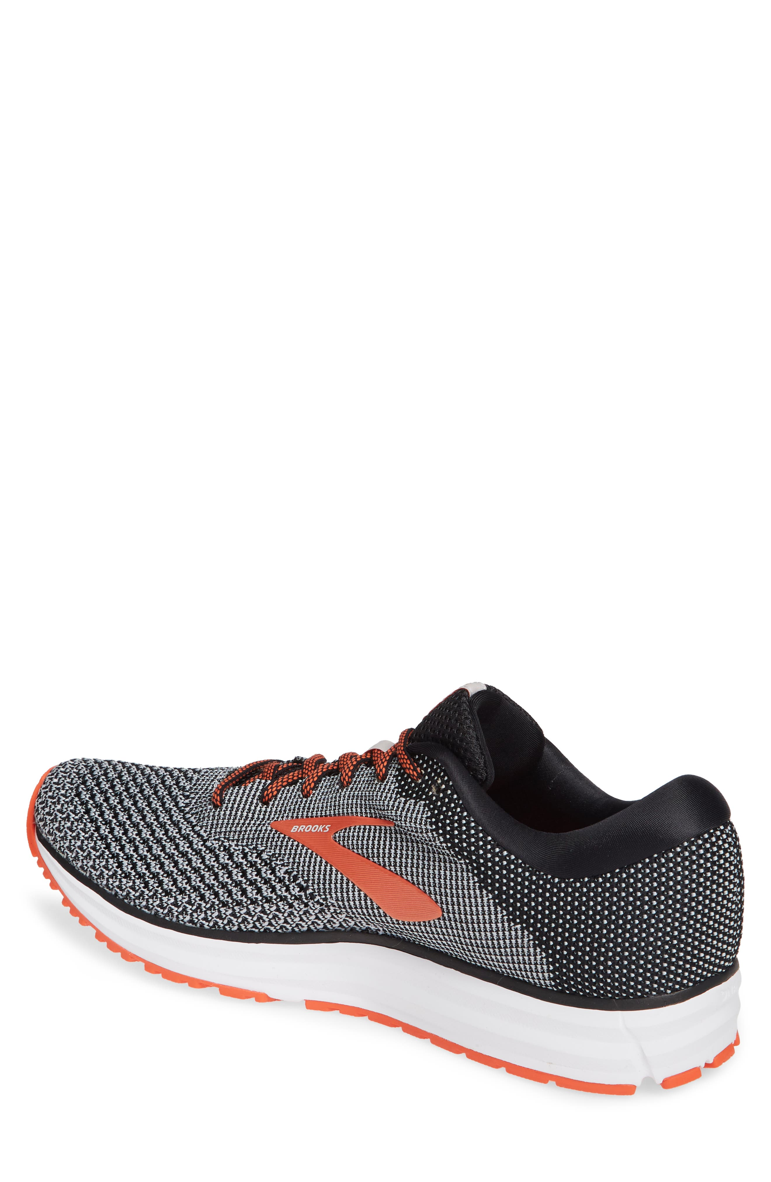 Revel 2 Running Shoe,                             Alternate thumbnail 2, color,                             BLACK/ LIGHT GREY/ ORANGE