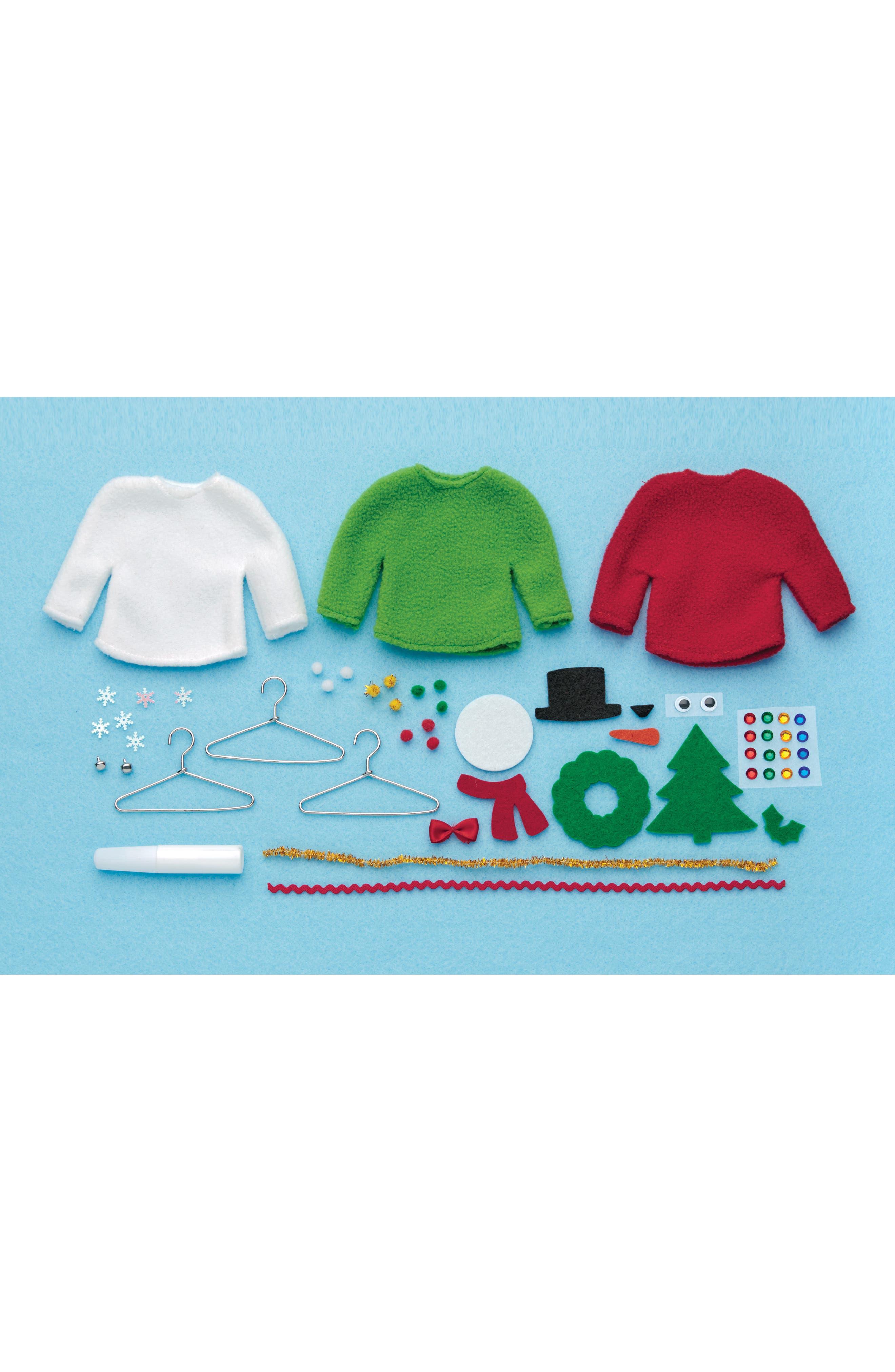 Sweater Ornaments Kit,                             Alternate thumbnail 3, color,                             320