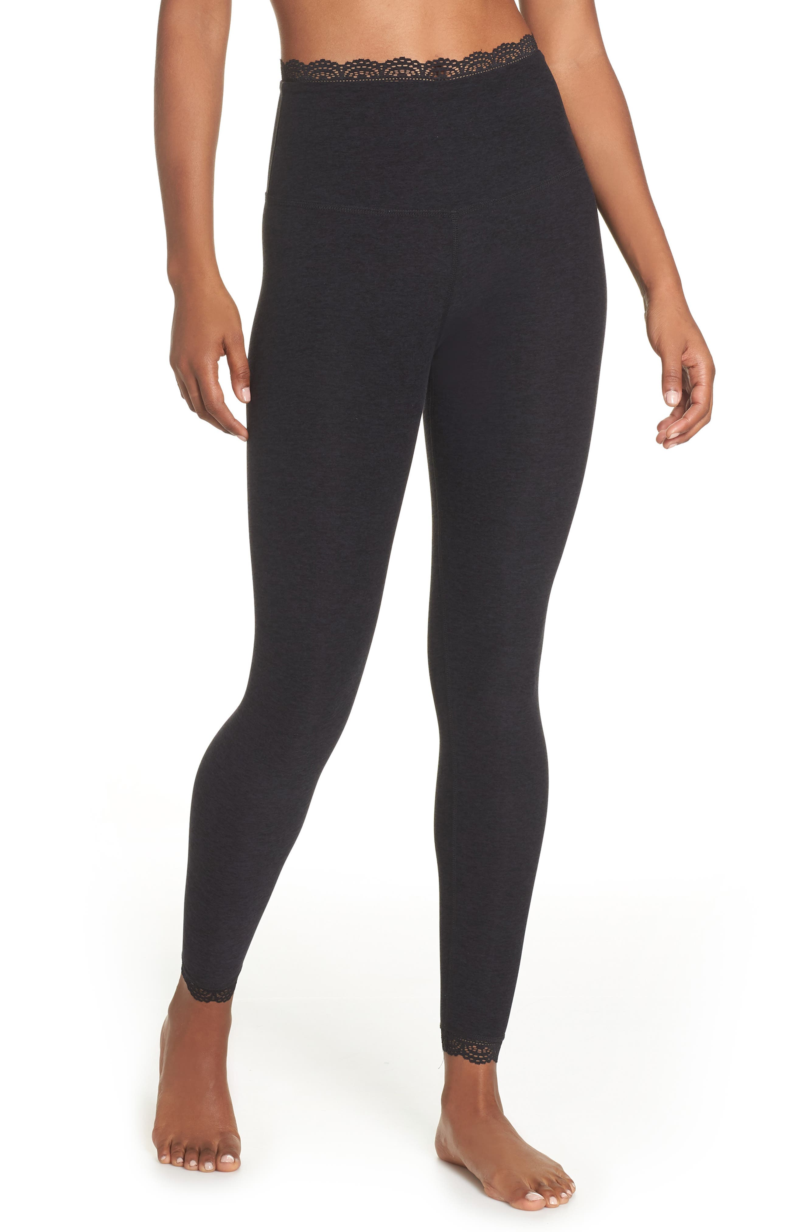 BEYOND YOGA All For Lace Leggings, Main, color, 003