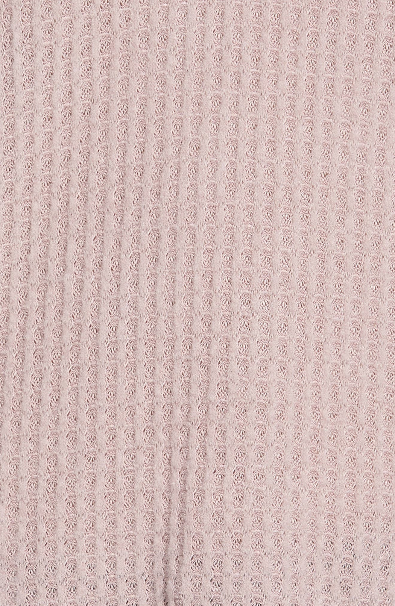 Thermal Henley Top,                             Alternate thumbnail 6, color,                             SOFT ROCK