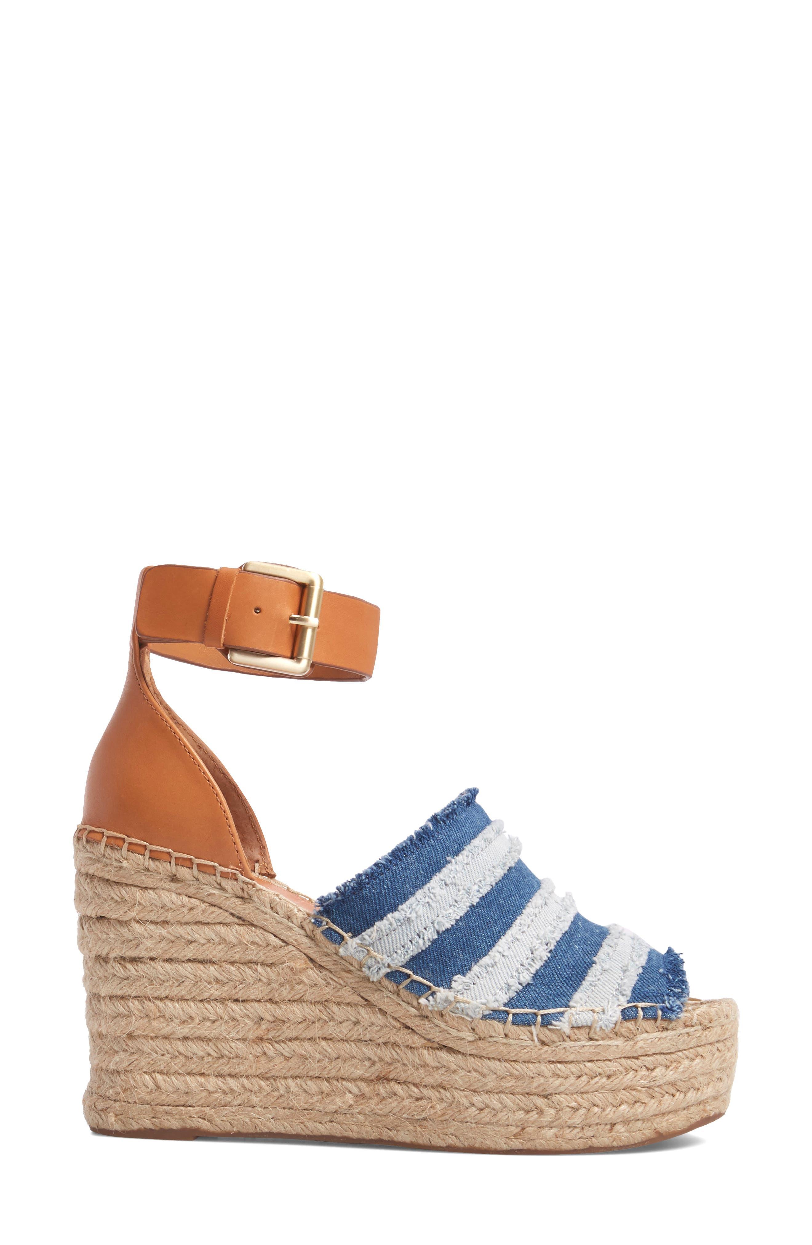 Adria Wedge Sandal,                             Alternate thumbnail 3, color,
