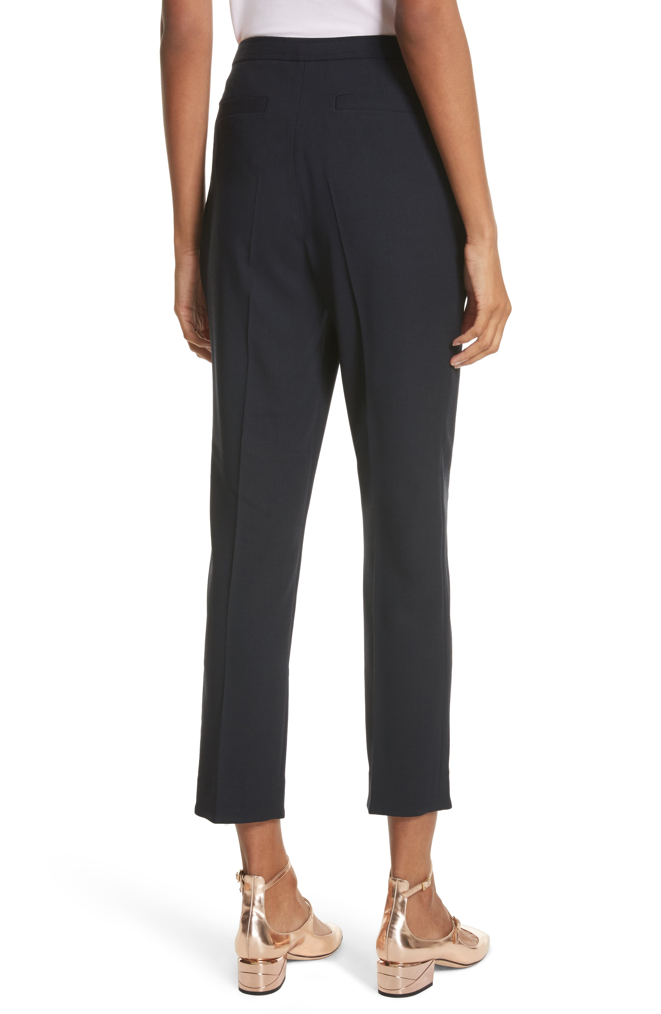 Ted Working Title Front Slit Skinny Trousers,                             Alternate thumbnail 2, color,                             410