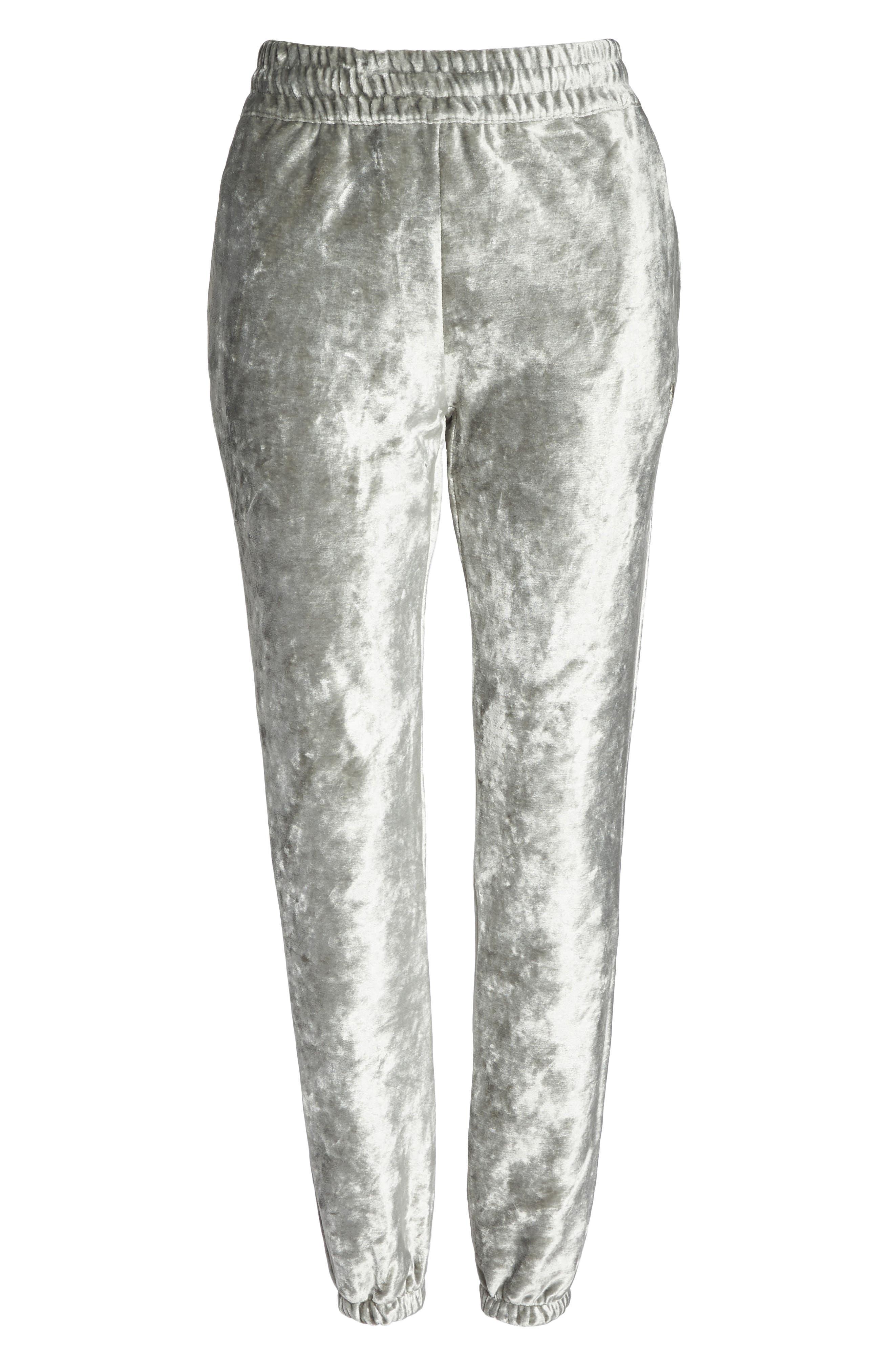 NIKE,                             NikeLab Essentials Women's Velour Pants,                             Alternate thumbnail 7, color,                             020