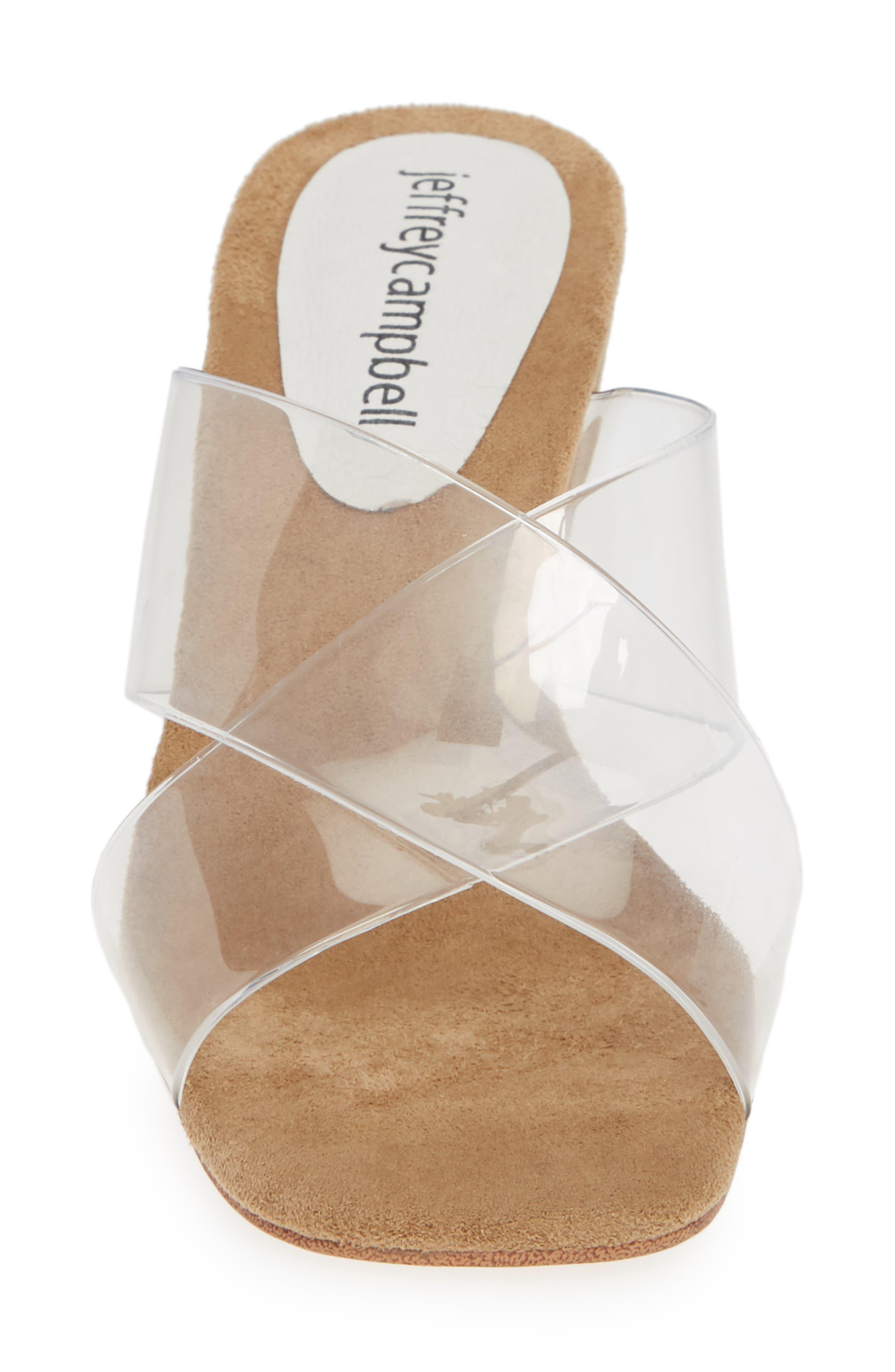 Mystical Wedge Sandal,                             Alternate thumbnail 4, color,                             IRIDESCENT
