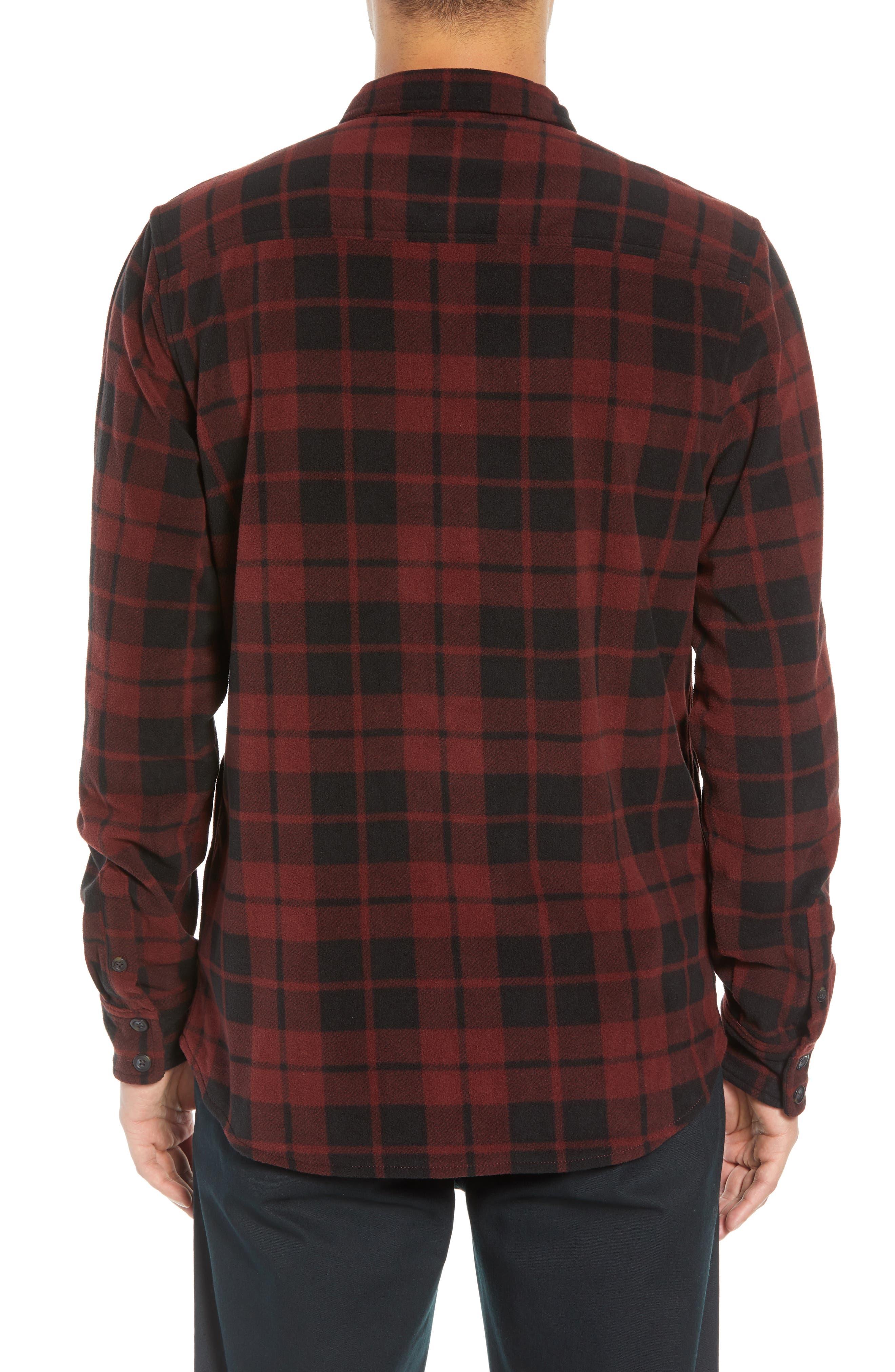 Hillcrest Fleece Shirt,                             Alternate thumbnail 2, color,                             930