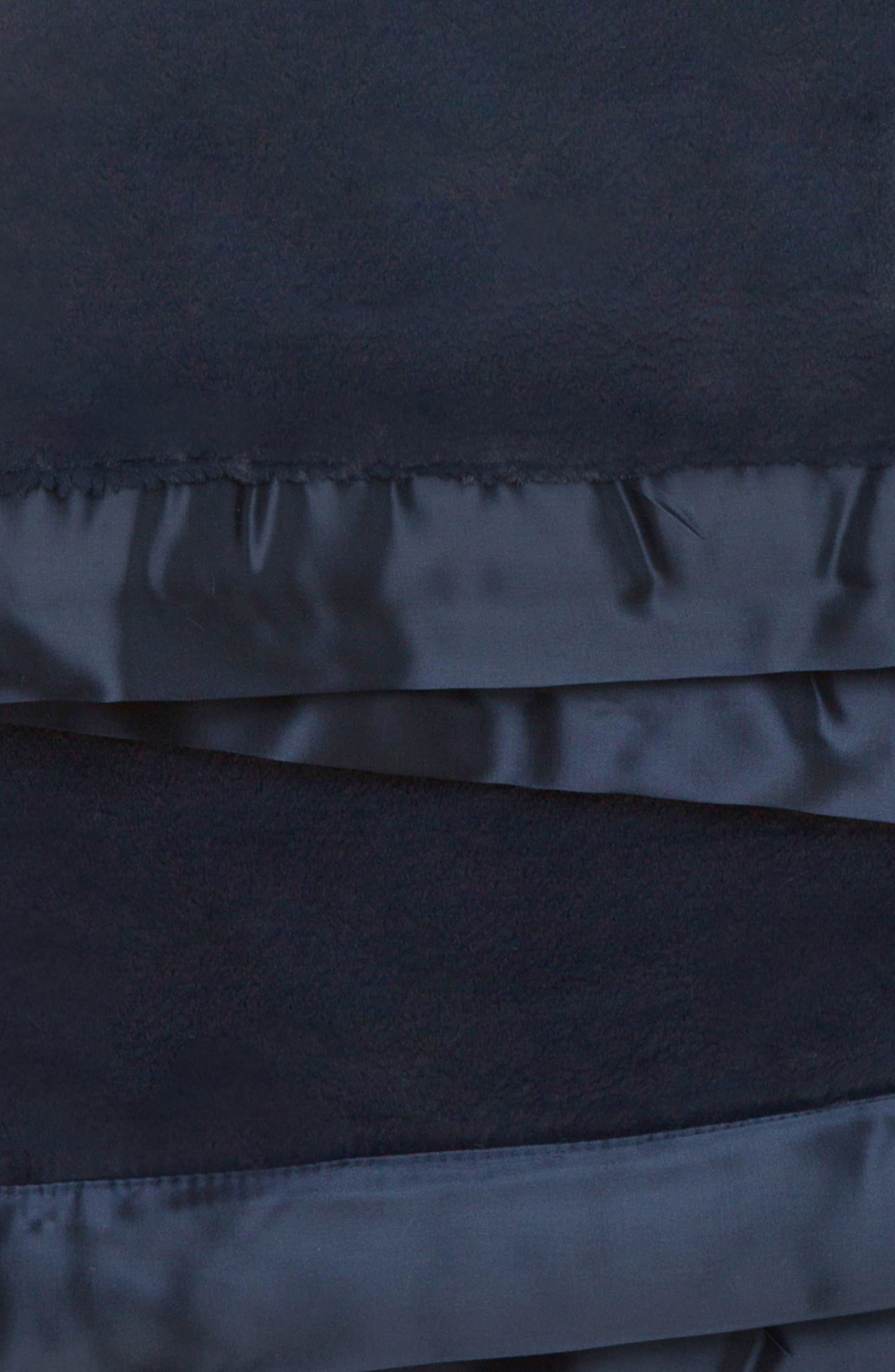 Luxe Baby Blanket,                             Alternate thumbnail 2, color,                             DENIM