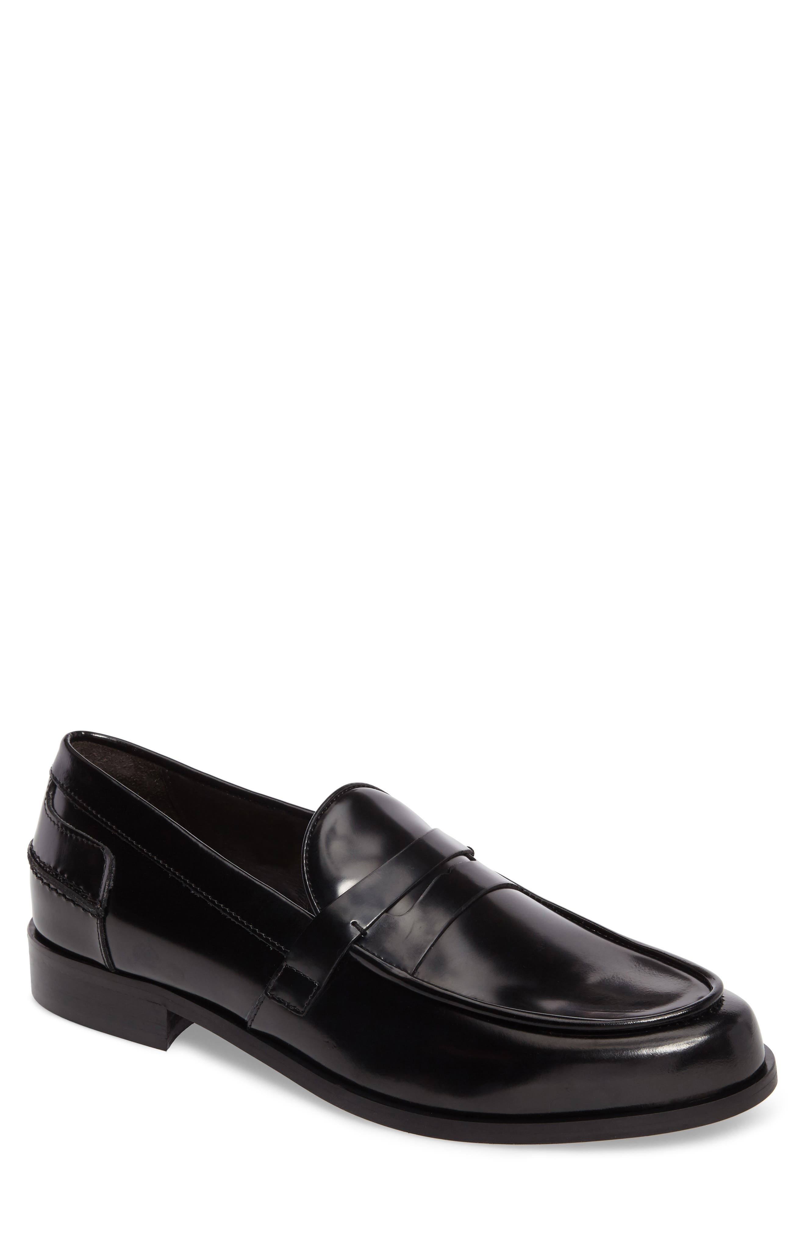 Donald J Pliner Sawyer Penny Loafer,                         Main,                         color,