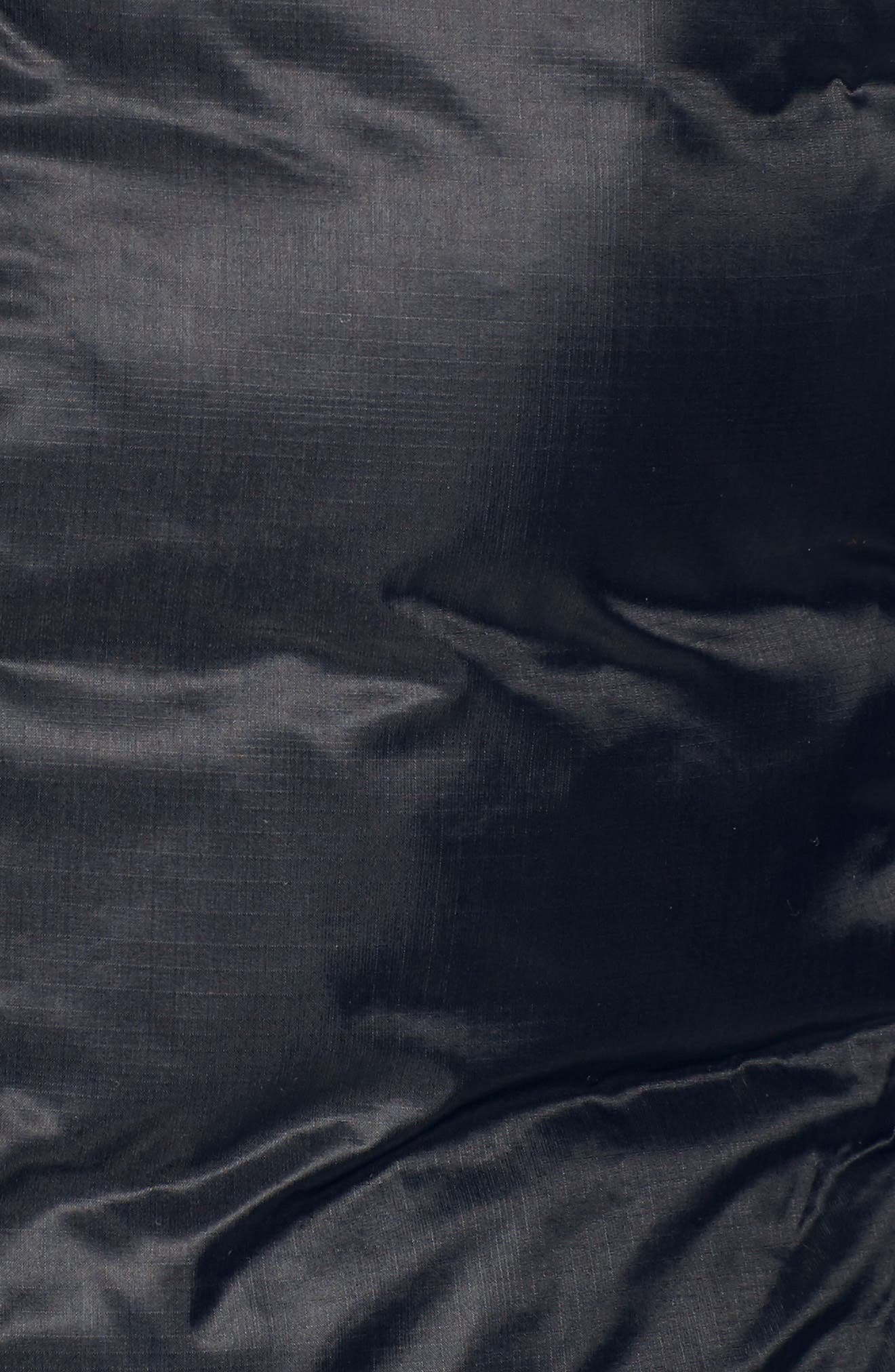 Camp Down Jacket,                             Alternate thumbnail 7, color,                             BLACK