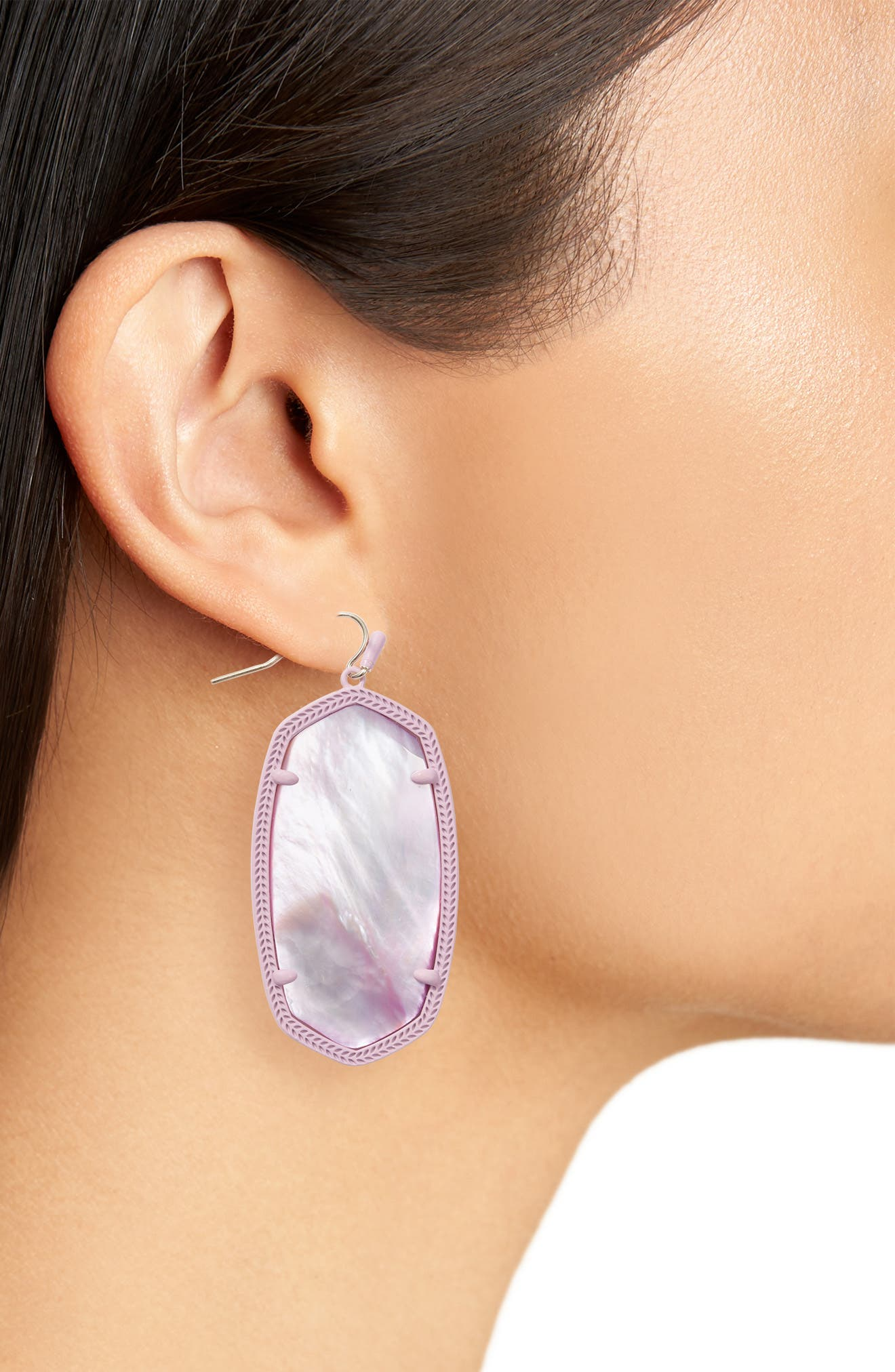 Danielle - Large Oval Statement Earrings,                             Alternate thumbnail 110, color,