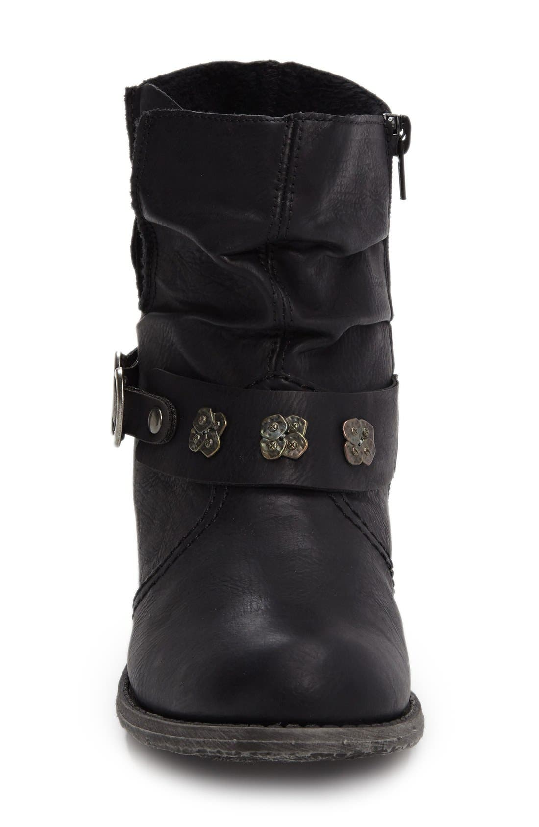 Rieker Antistress 'Peggy' Boot,                             Alternate thumbnail 3, color,                             001