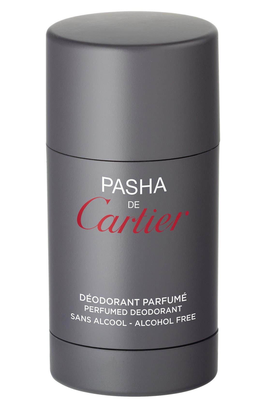 Cartier 'Pasha' Deodorant Stick,                             Main thumbnail 1, color,                             000