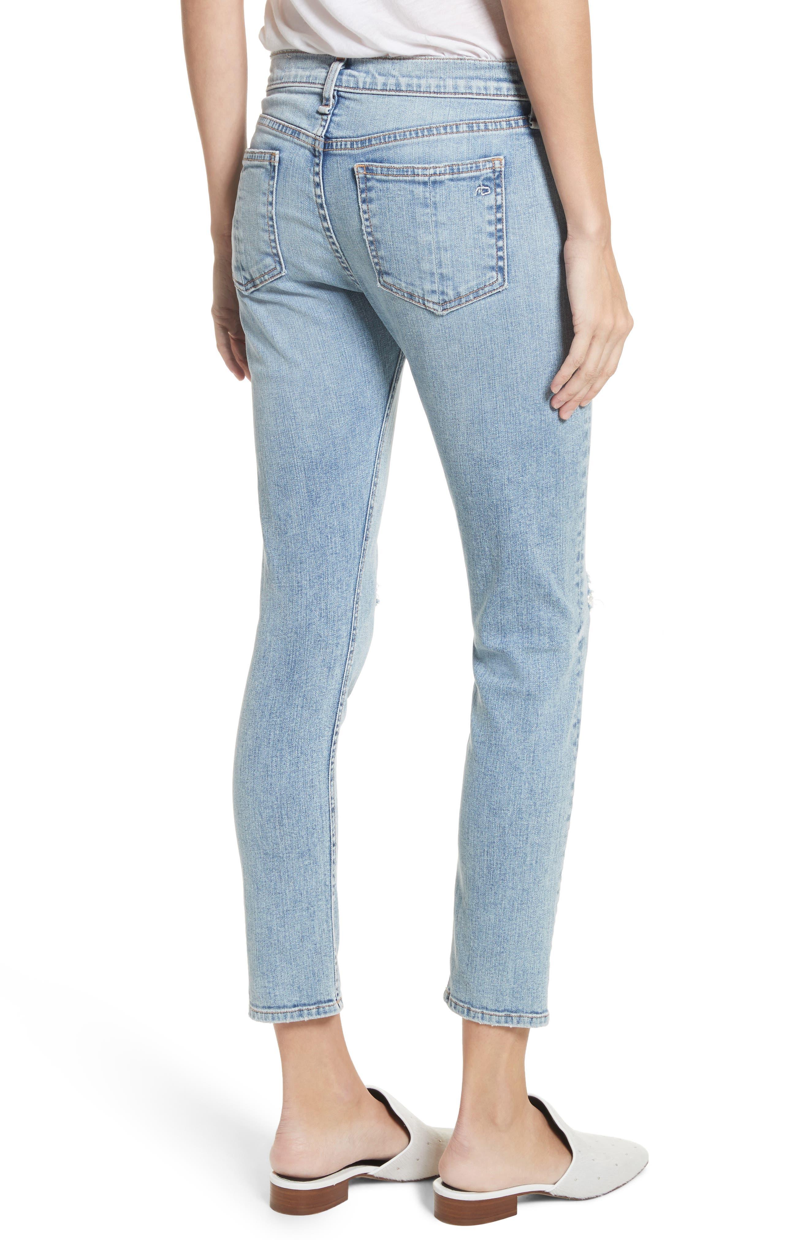 Ankle Skinny Jeans,                             Alternate thumbnail 2, color,                             450