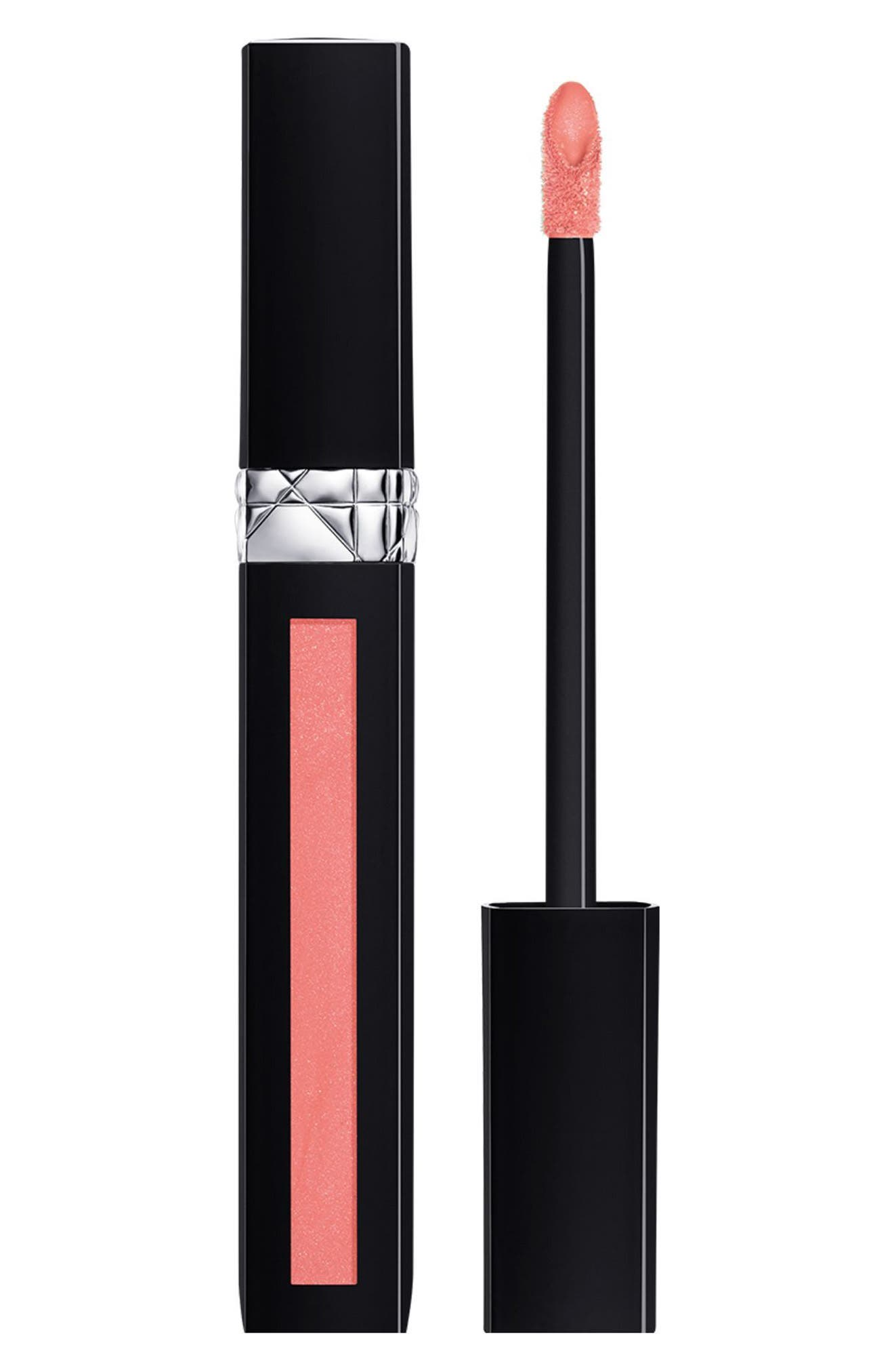 Rouge Dior Liquid Lip Stain,                             Main thumbnail 1, color,                             162 MISS SATIN