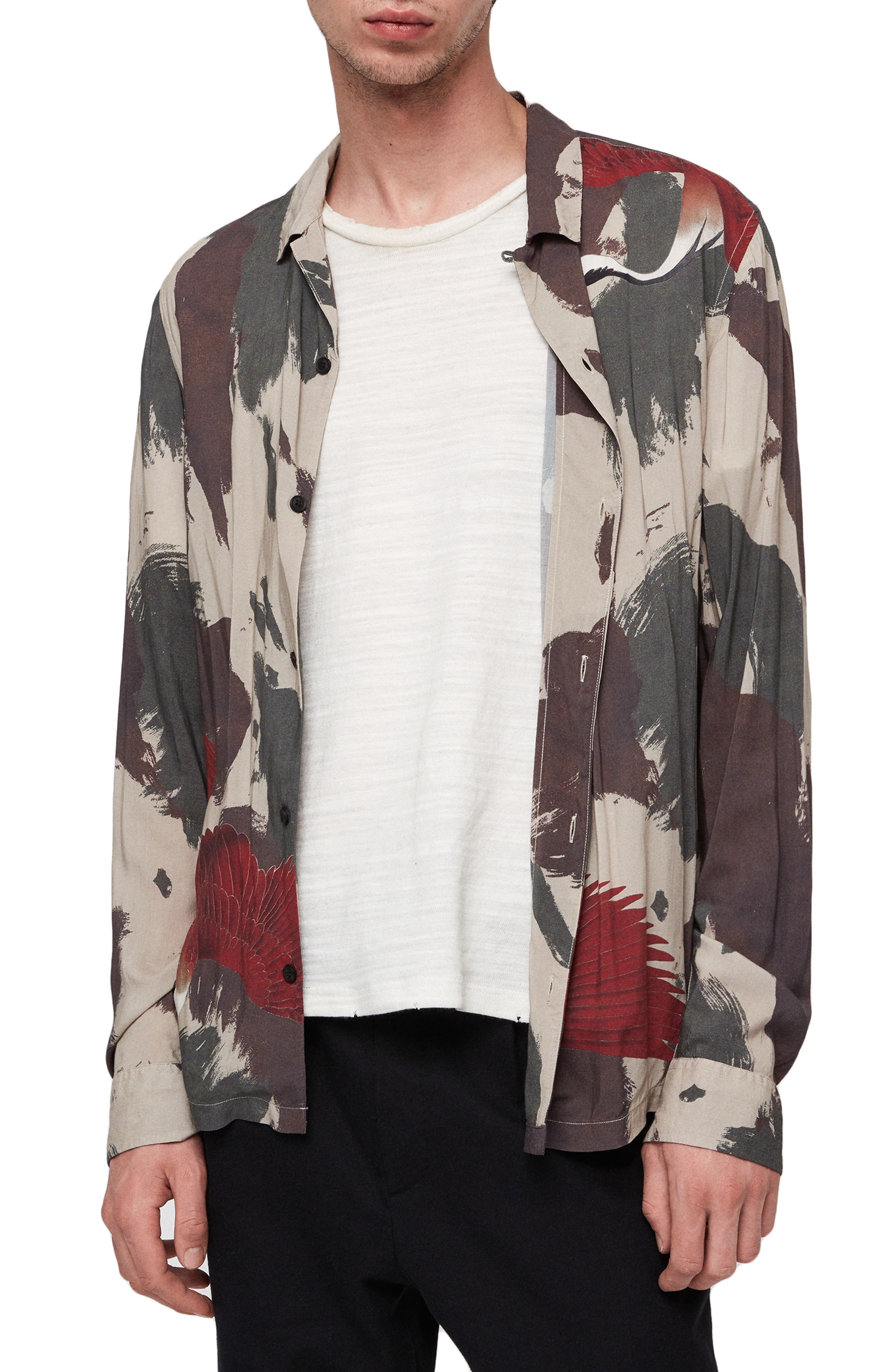 Lucerne Slim Fit Shirt, Main, color, 300