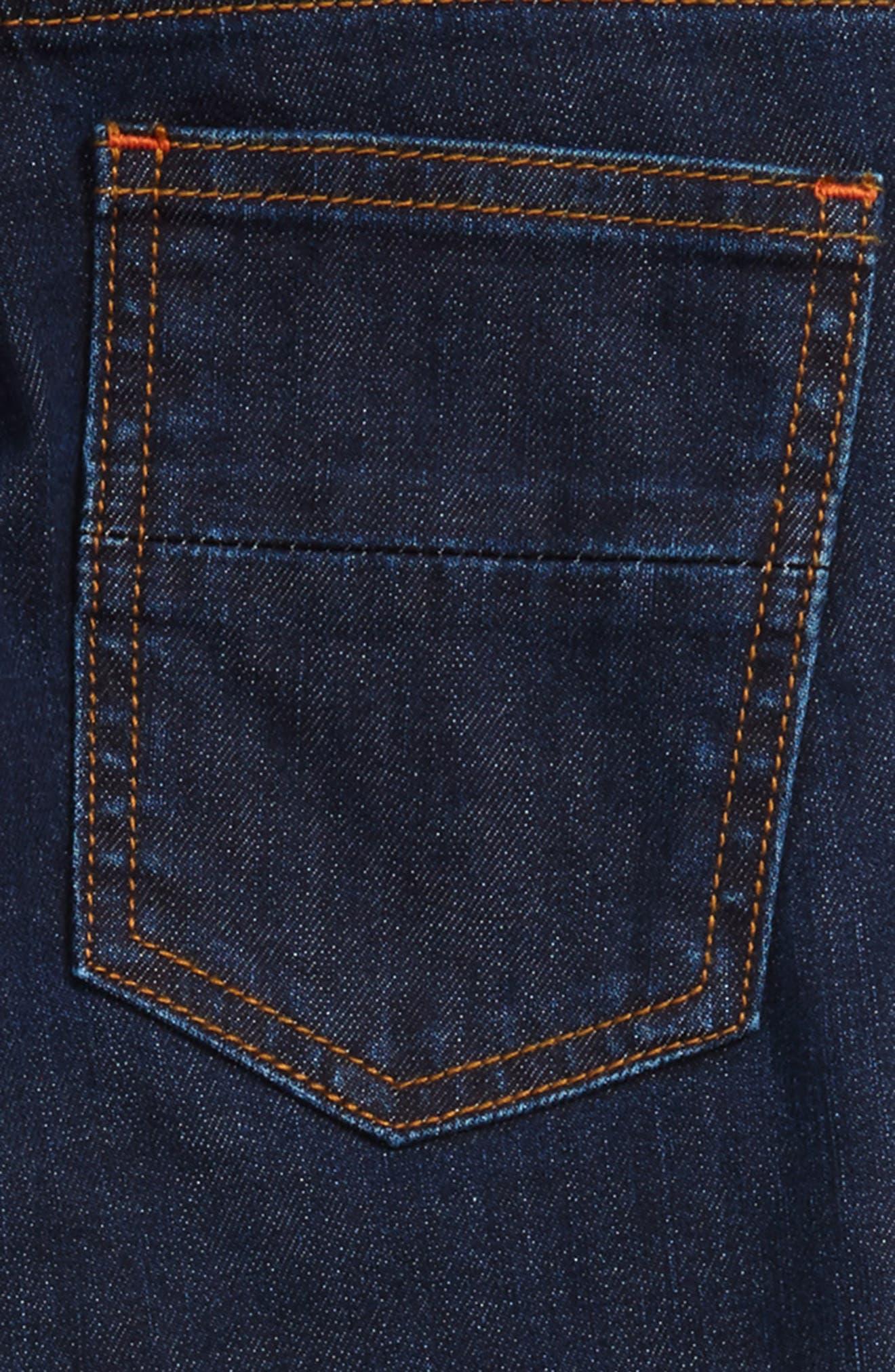 Slim Straight Leg Jeans,                             Alternate thumbnail 3, color,                             404
