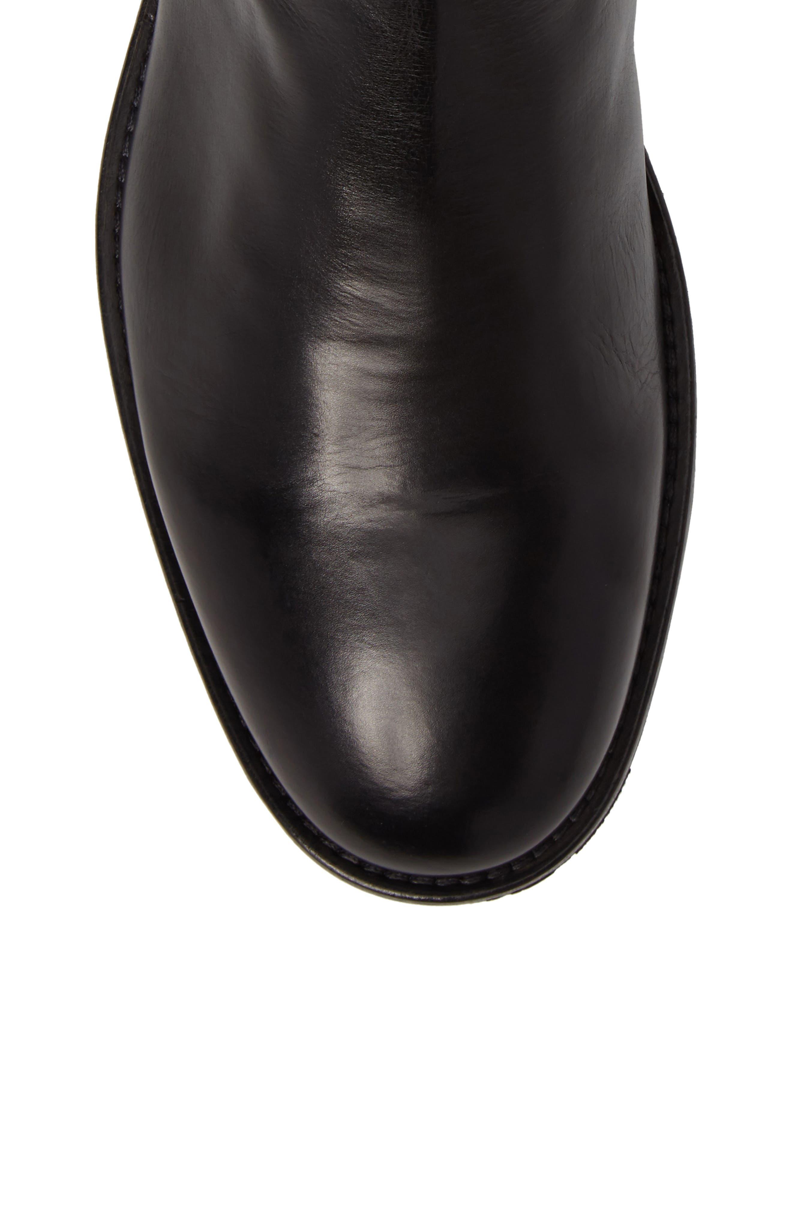 Heath Zip Boot,                             Alternate thumbnail 5, color,                             001