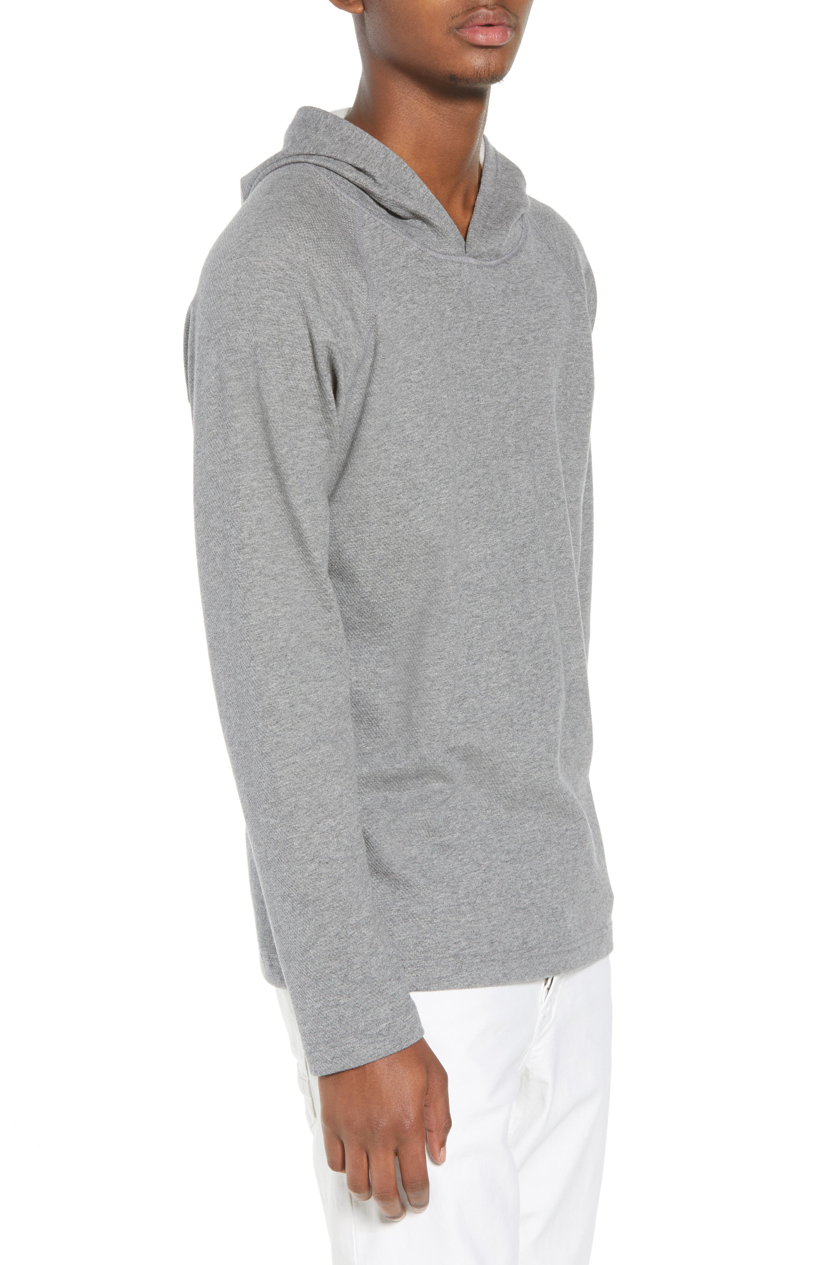 Mesh Jersey Hoodie,                             Alternate thumbnail 3, color,                             060