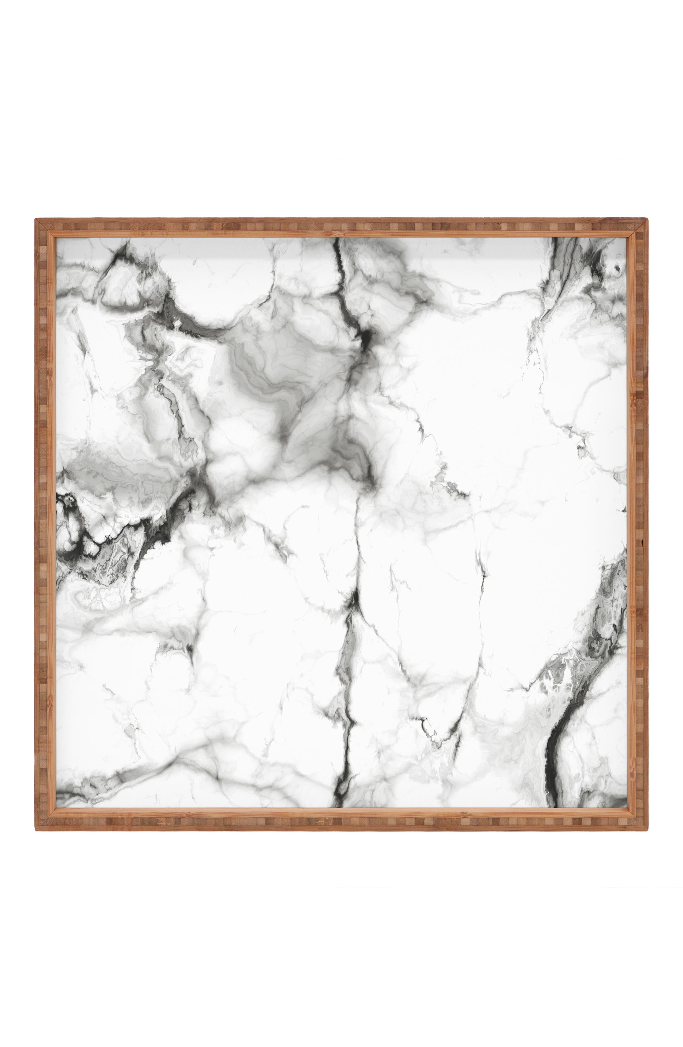 Marble Square Tray,                             Main thumbnail 1, color,                             020