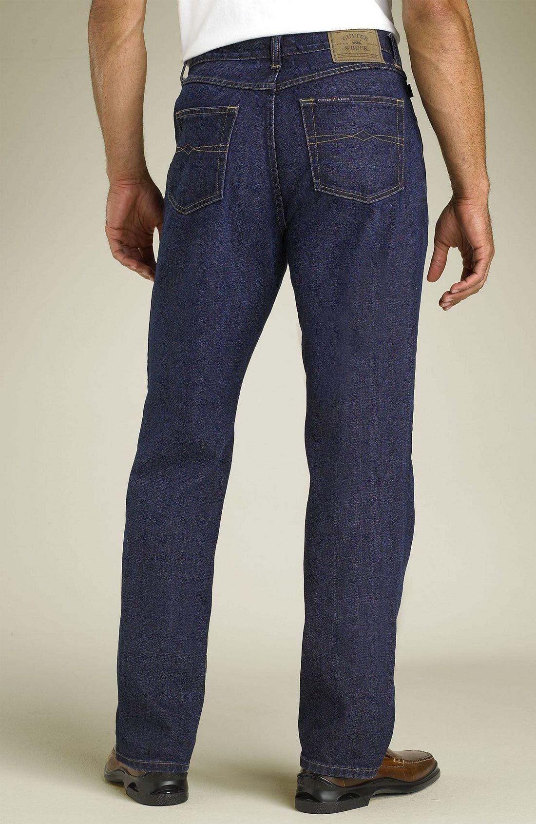 Classic Five Pocket Straight Leg Jeans,                             Main thumbnail 2, color,