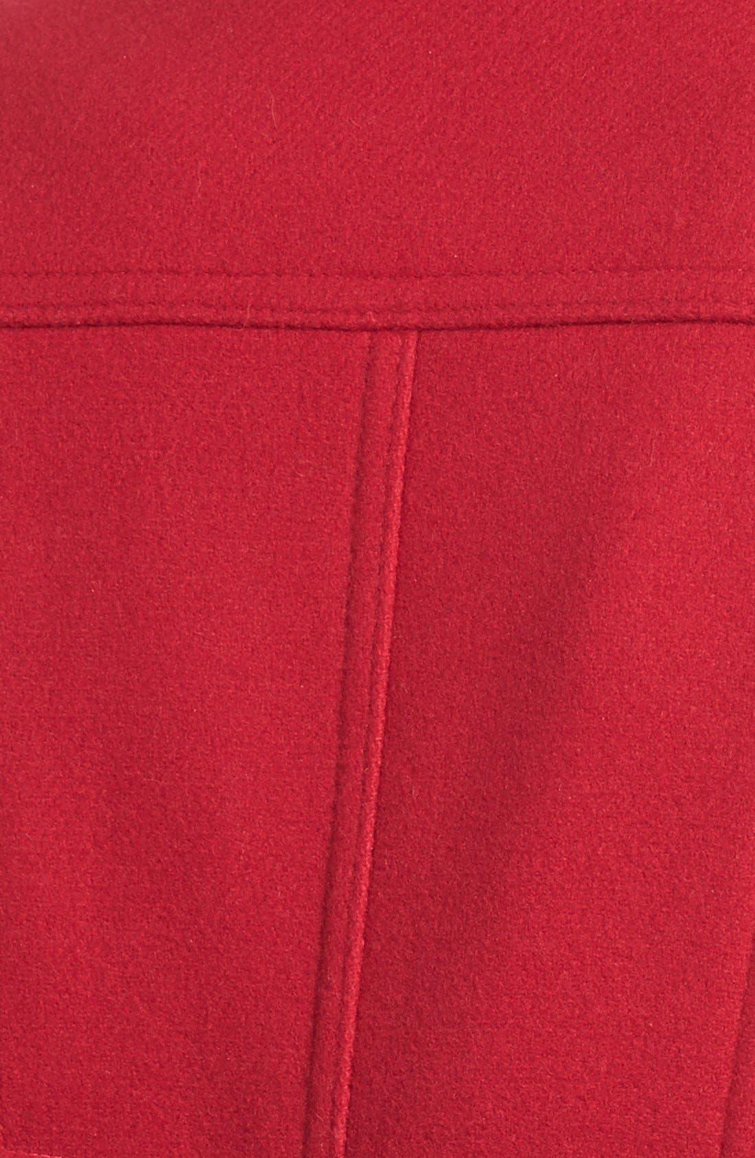 Wool Blend Peacoat,                             Alternate thumbnail 9, color,