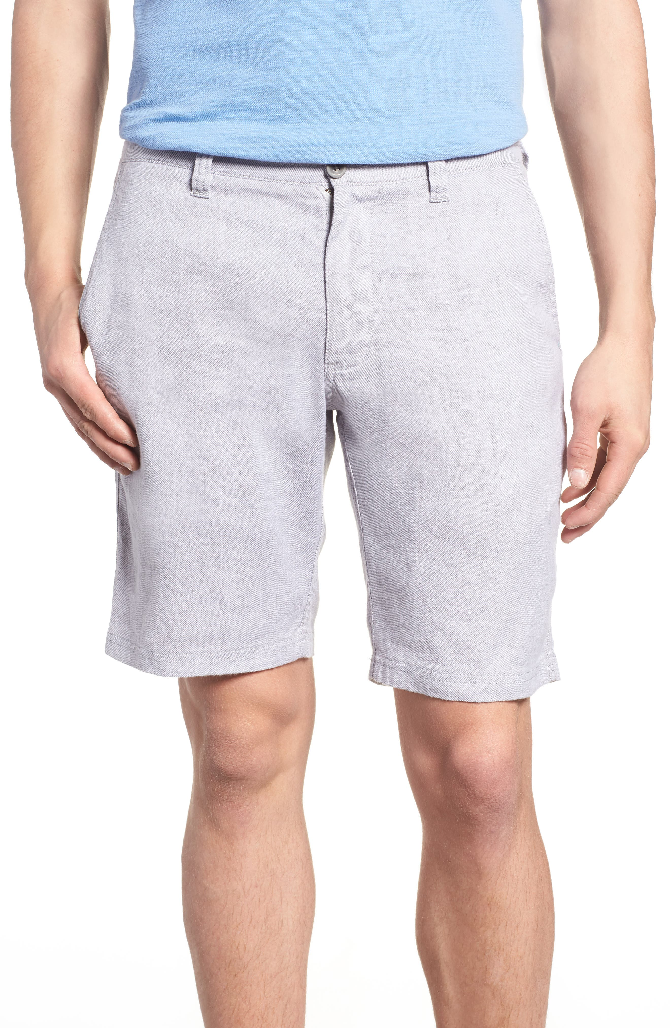 Beach Linen Blend Shorts,                             Main thumbnail 1, color,                             050