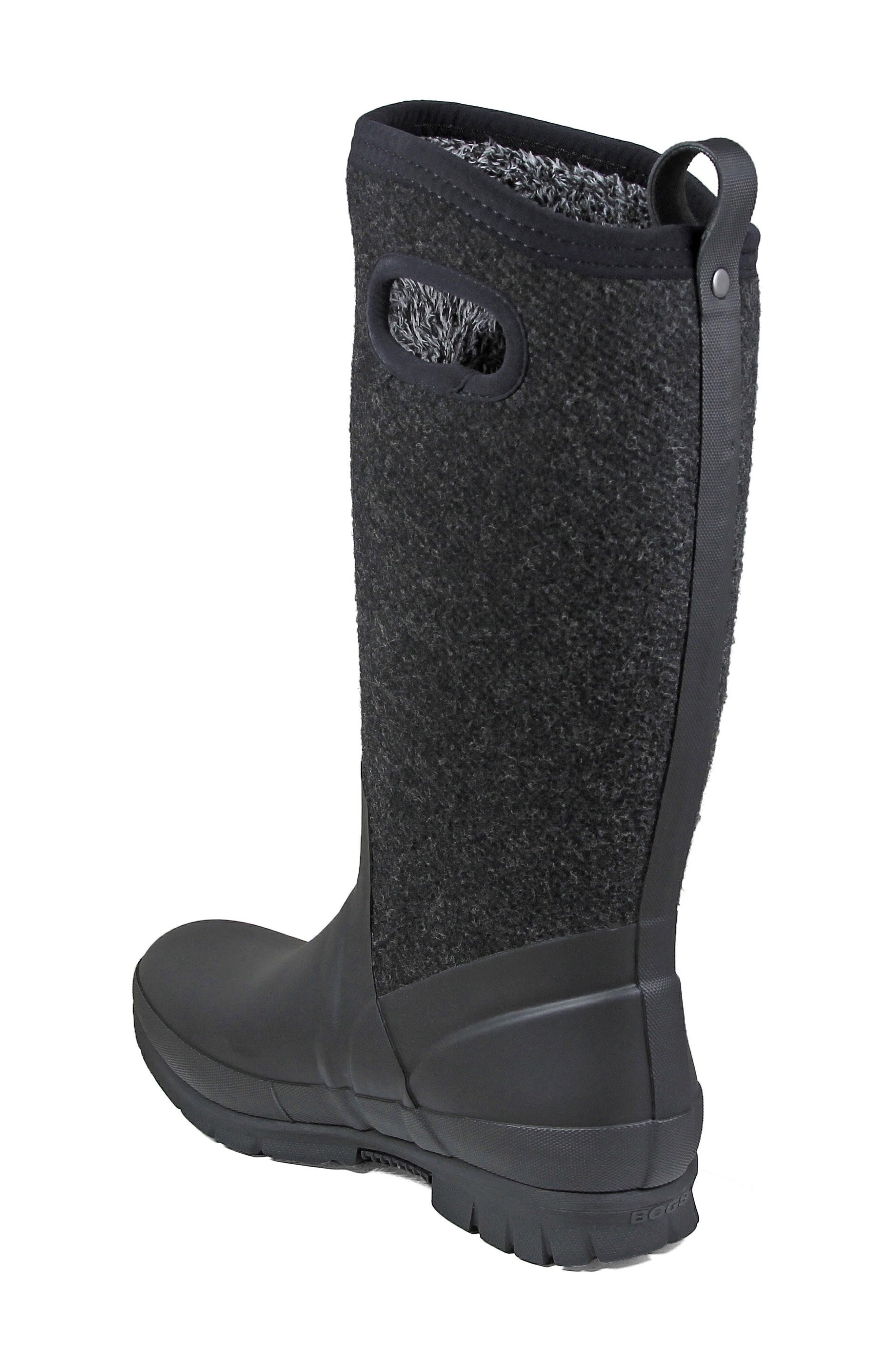 Crandall Waterproof Tall Boot,                             Alternate thumbnail 2, color,                             001