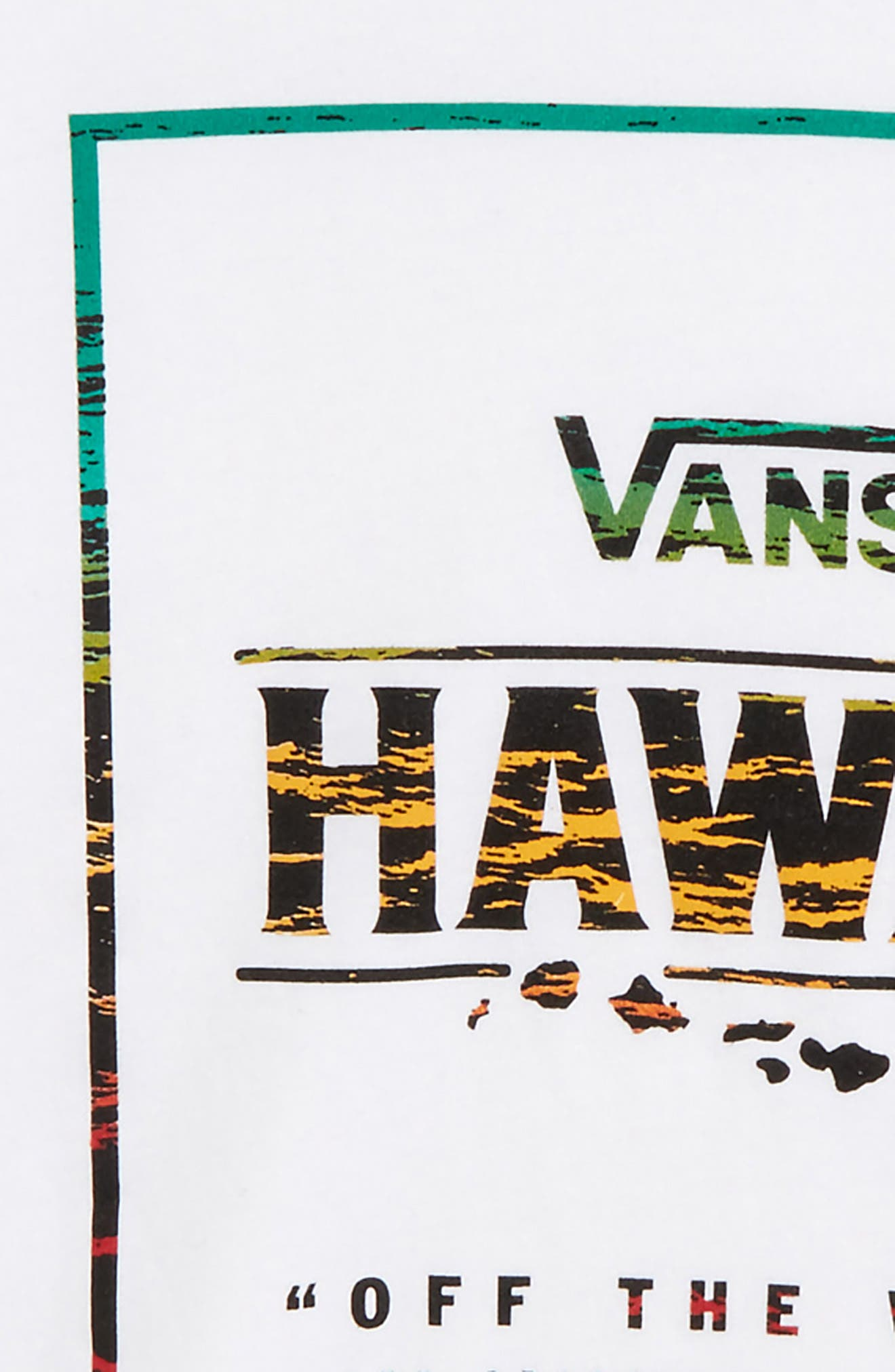 Hawaii Mauka Graphic T-Shirt,                             Alternate thumbnail 2, color,                             100