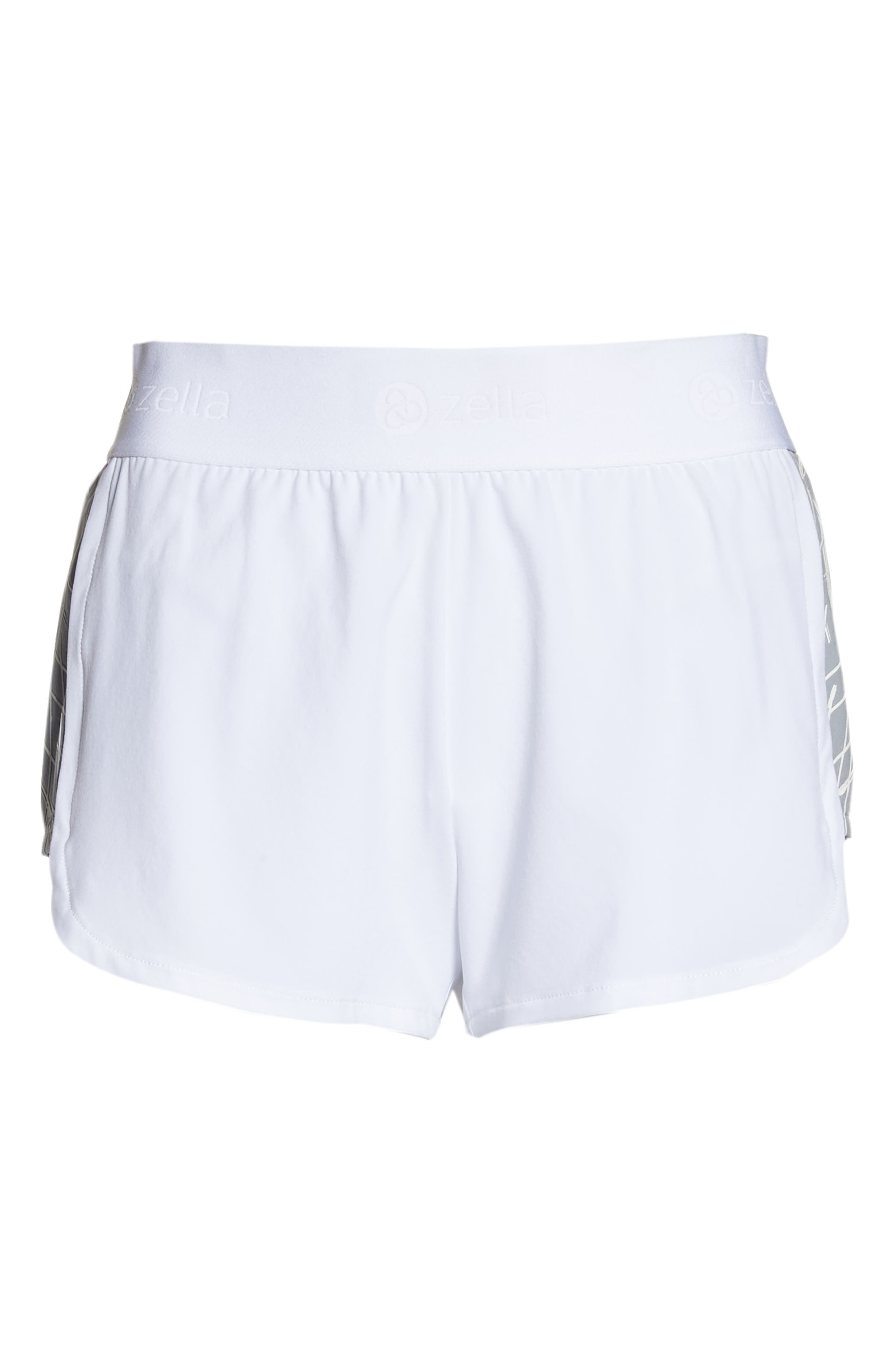 Go Run Reflect Shorts,                             Alternate thumbnail 7, color,                             WHITE