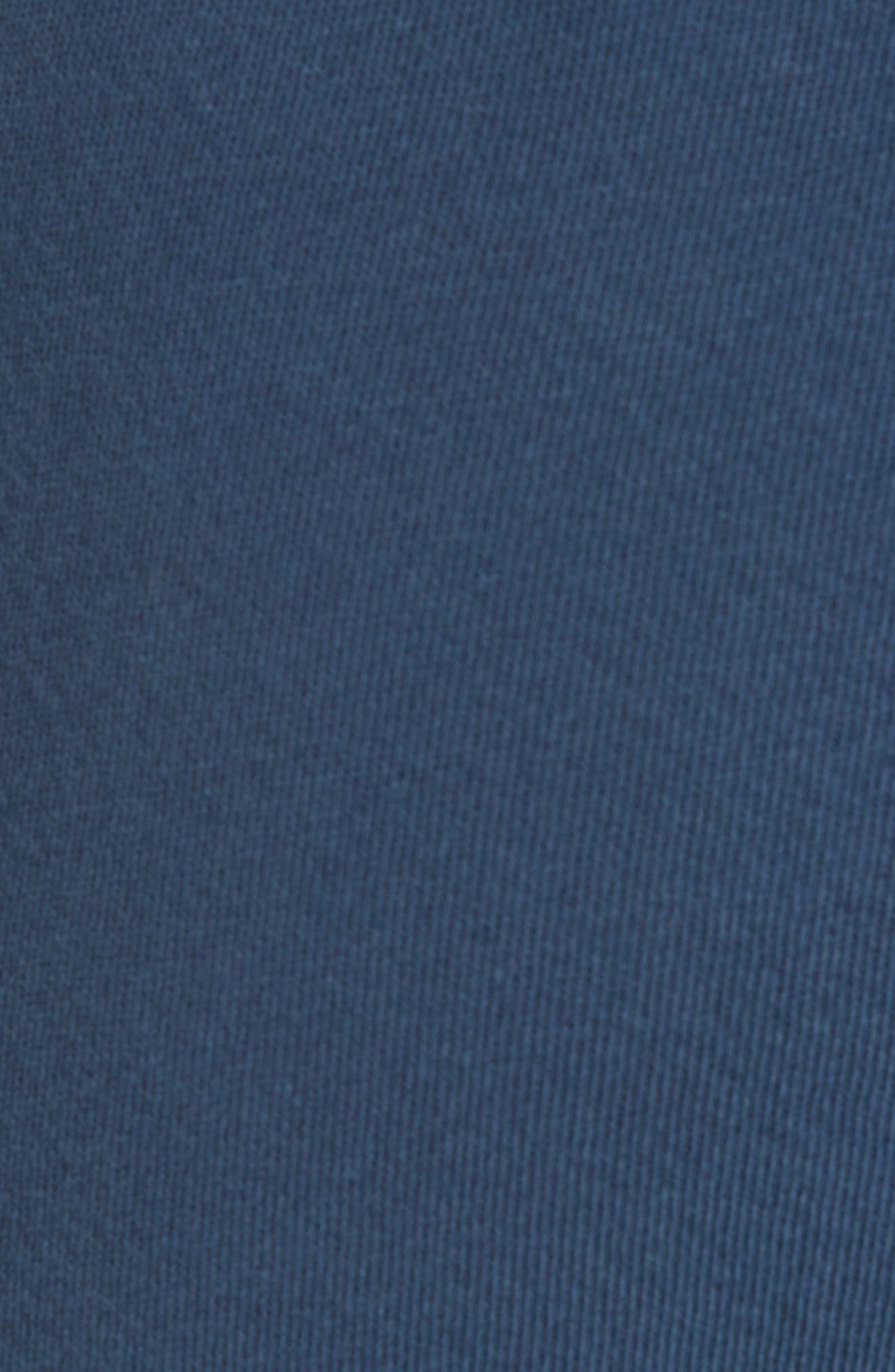 The Cropped Sweatpants,                             Alternate thumbnail 5, color,                             NAVY/ STAR EMBROIDERY