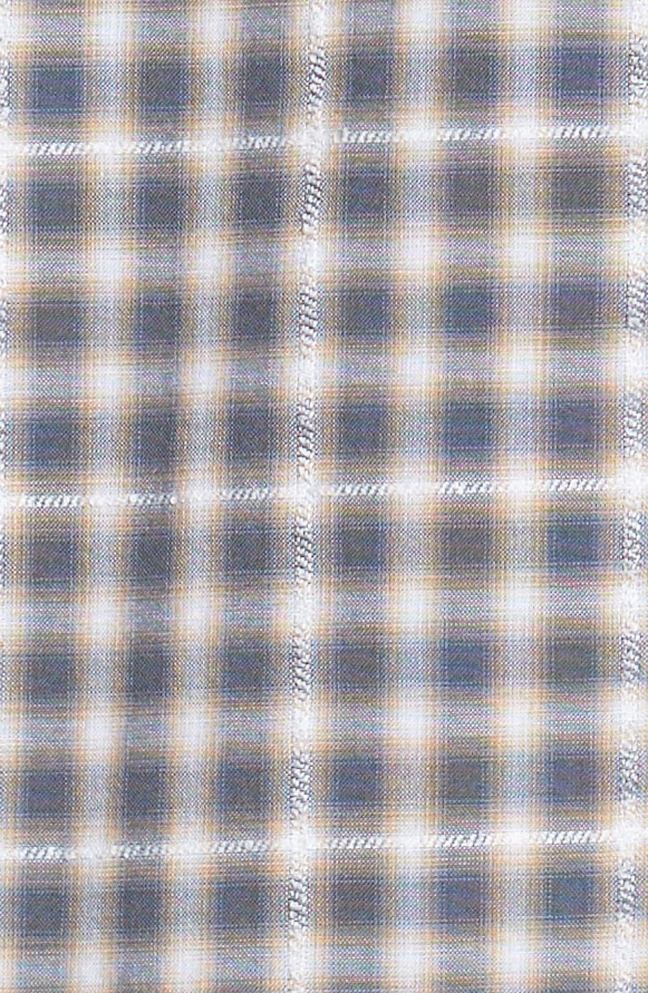 John T Print Slim Fit Sport Shirt,                             Alternate thumbnail 5, color,                             090