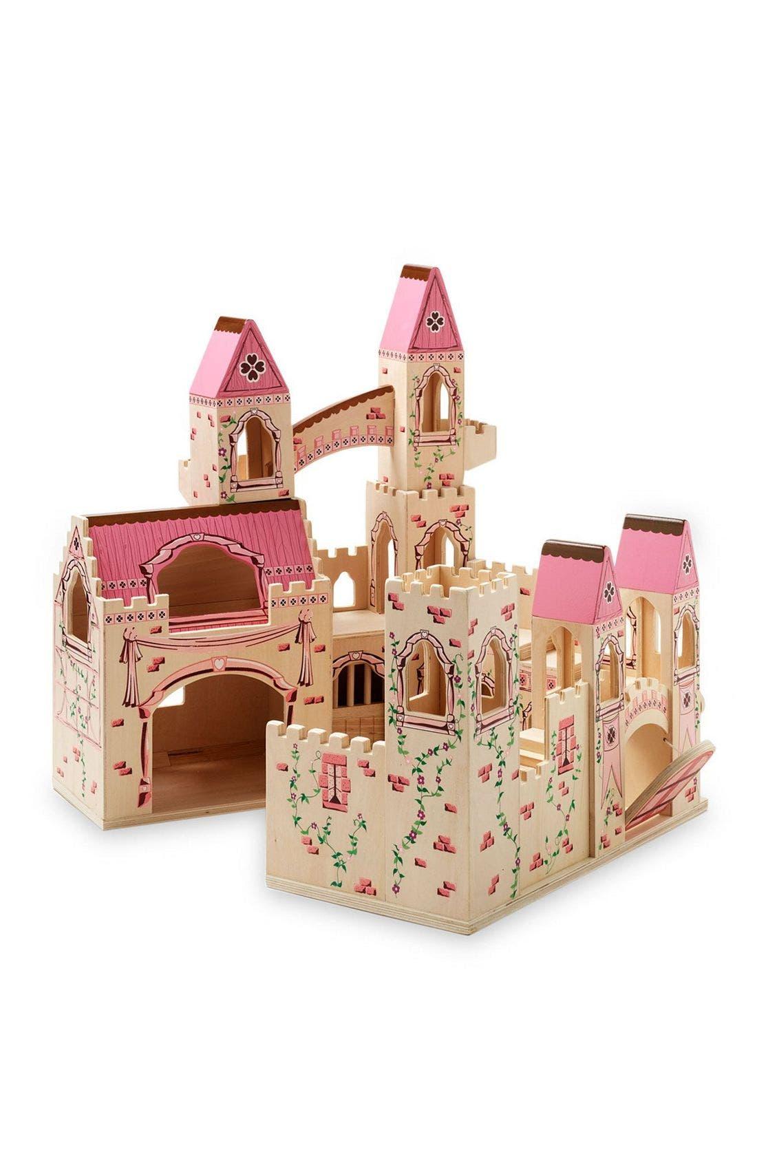 Wood Play Castle,                             Alternate thumbnail 5, color,