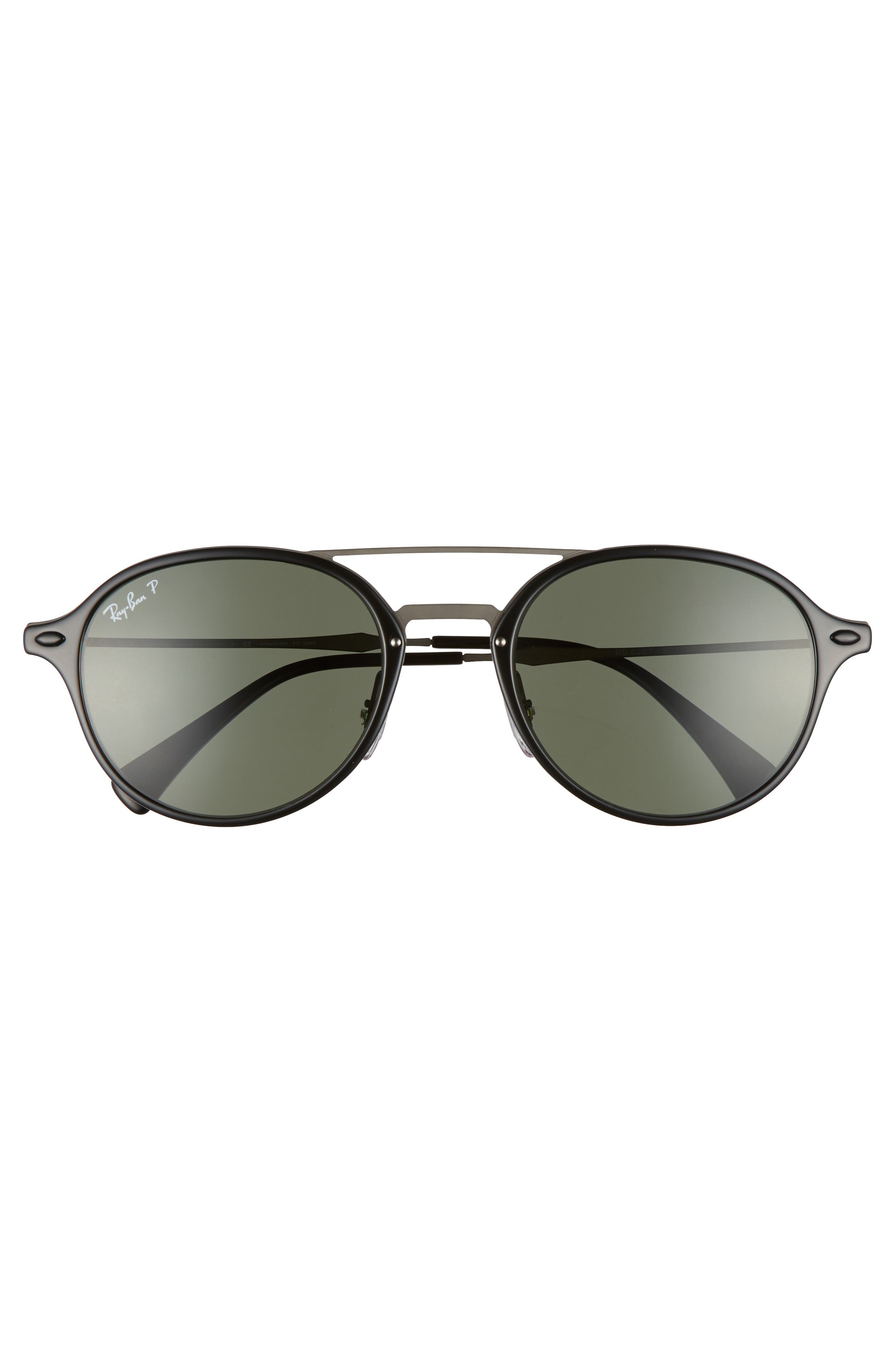 55mm Aviator Sunglasses,                             Alternate thumbnail 3, color,                             001