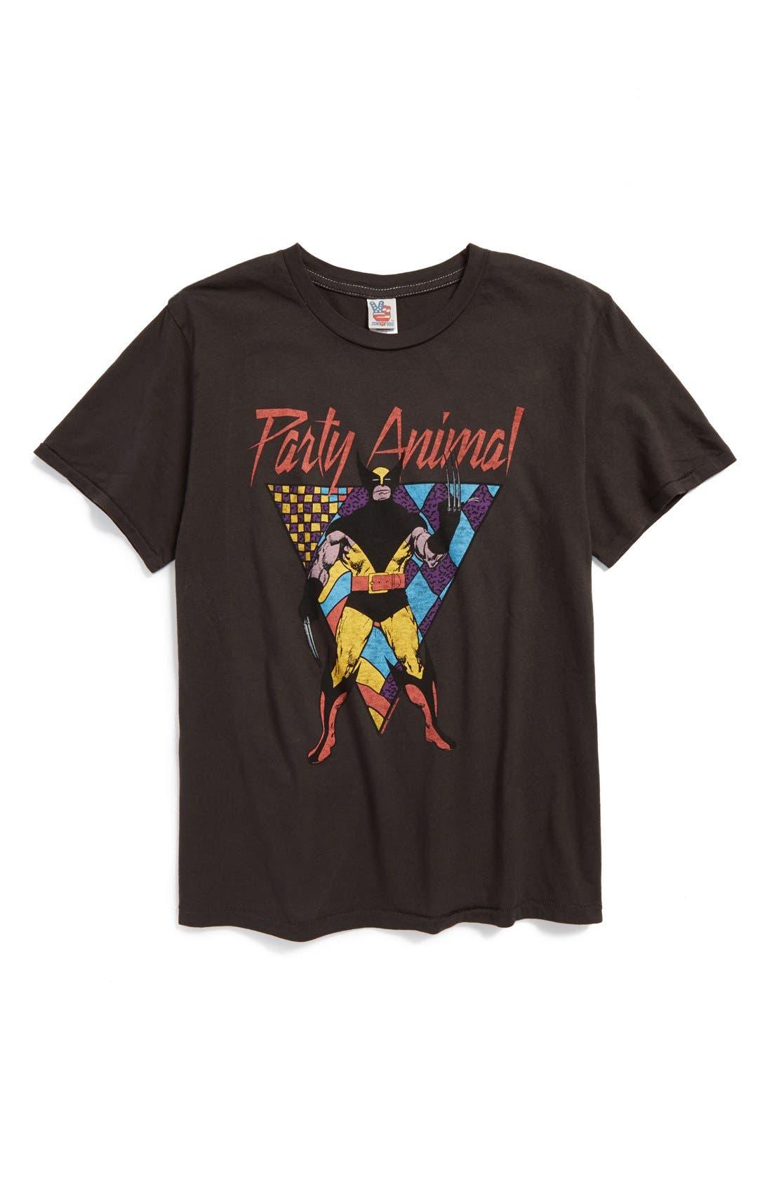 'X-Men - Party Animal' T-Shirt,                         Main,                         color, 004