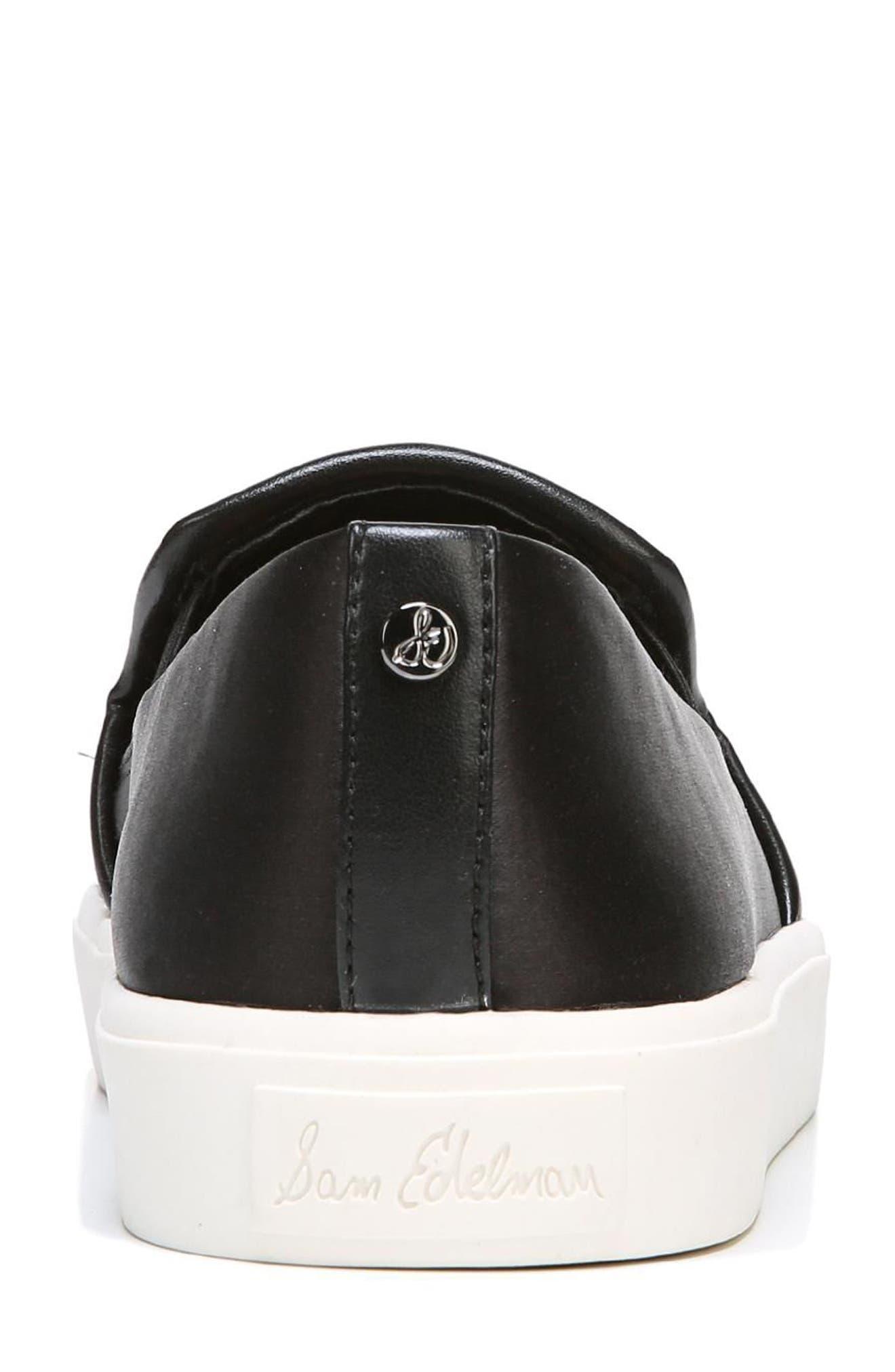 SAM EDELMAN,                             Elton Slip-On Sneaker,                             Alternate thumbnail 7, color,                             002