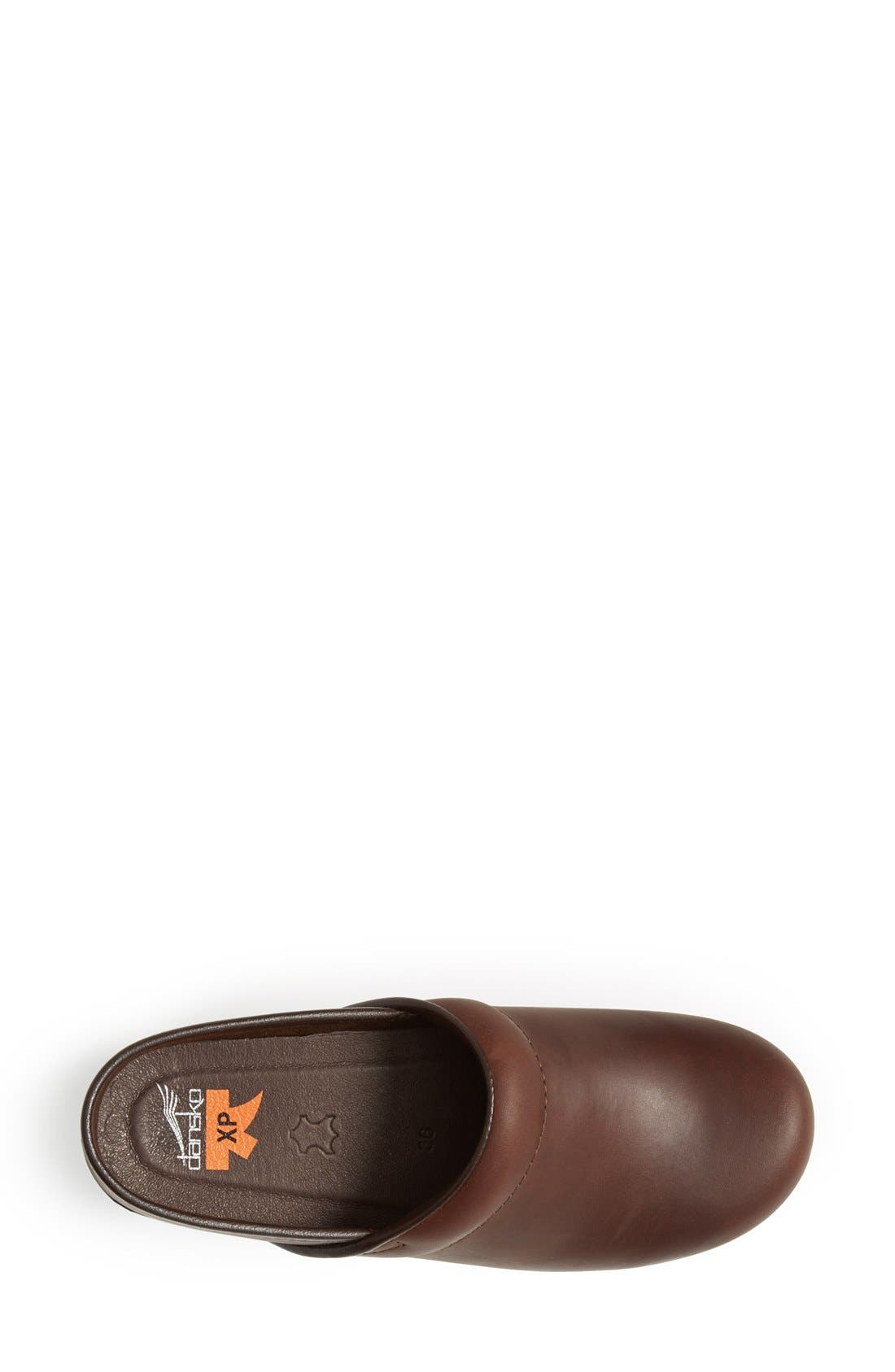 'Pro XP' Clog,                             Alternate thumbnail 3, color,                             BROWN OILED