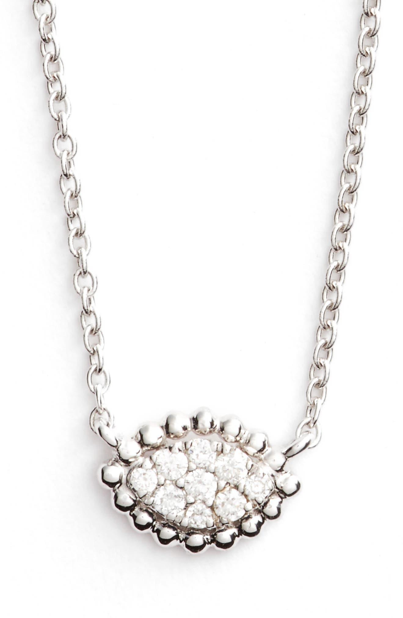 Diamond Pendant Necklace,                             Main thumbnail 1, color,                             711