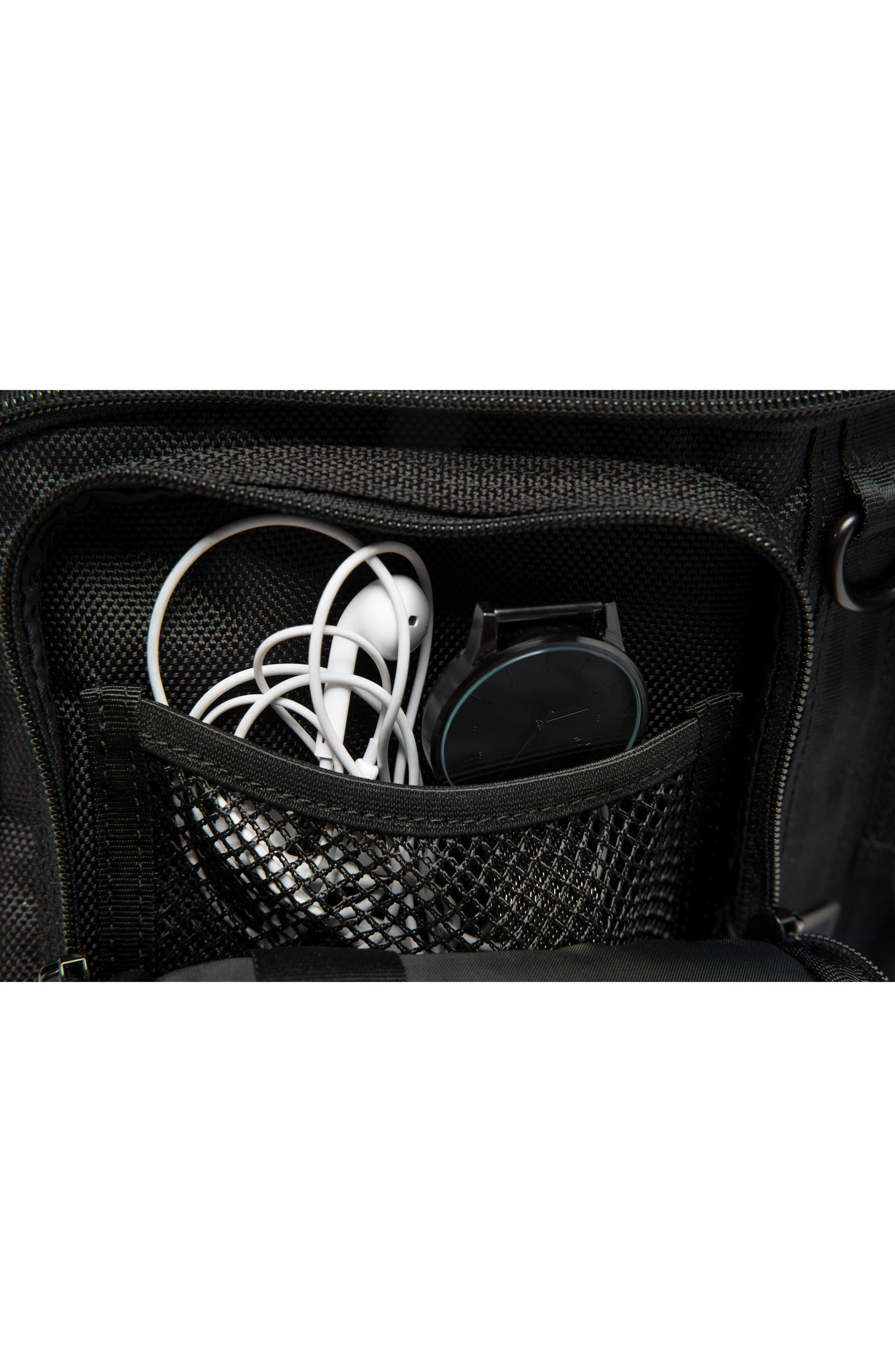 MXD Segment Sling Bag,                             Alternate thumbnail 5, color,                             ALL BLACK