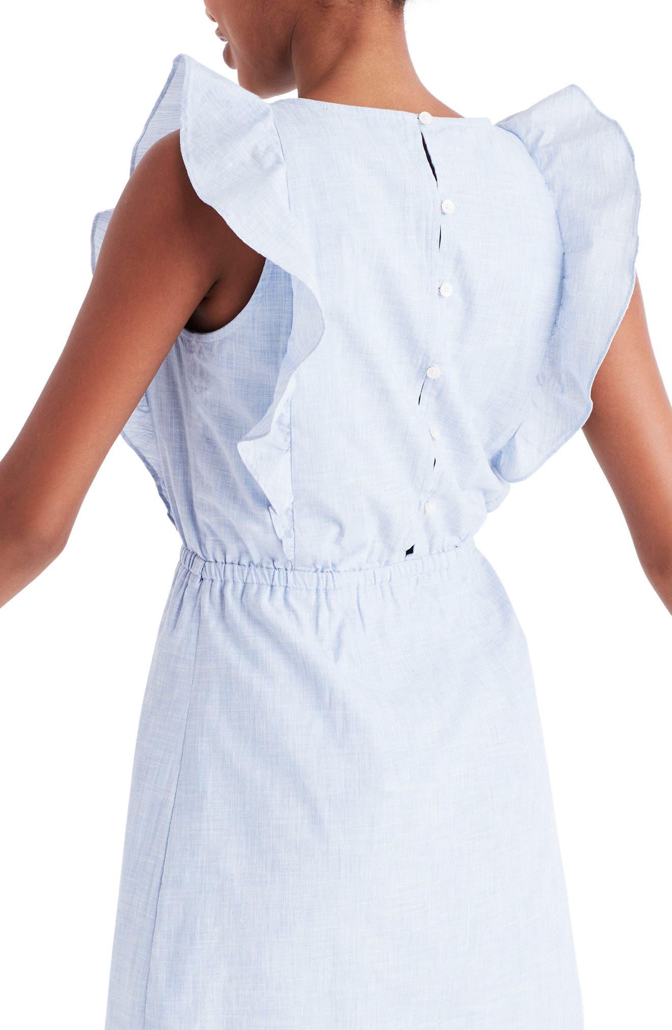 Bellflower Ruffle Dress,                             Alternate thumbnail 2, color,                             400