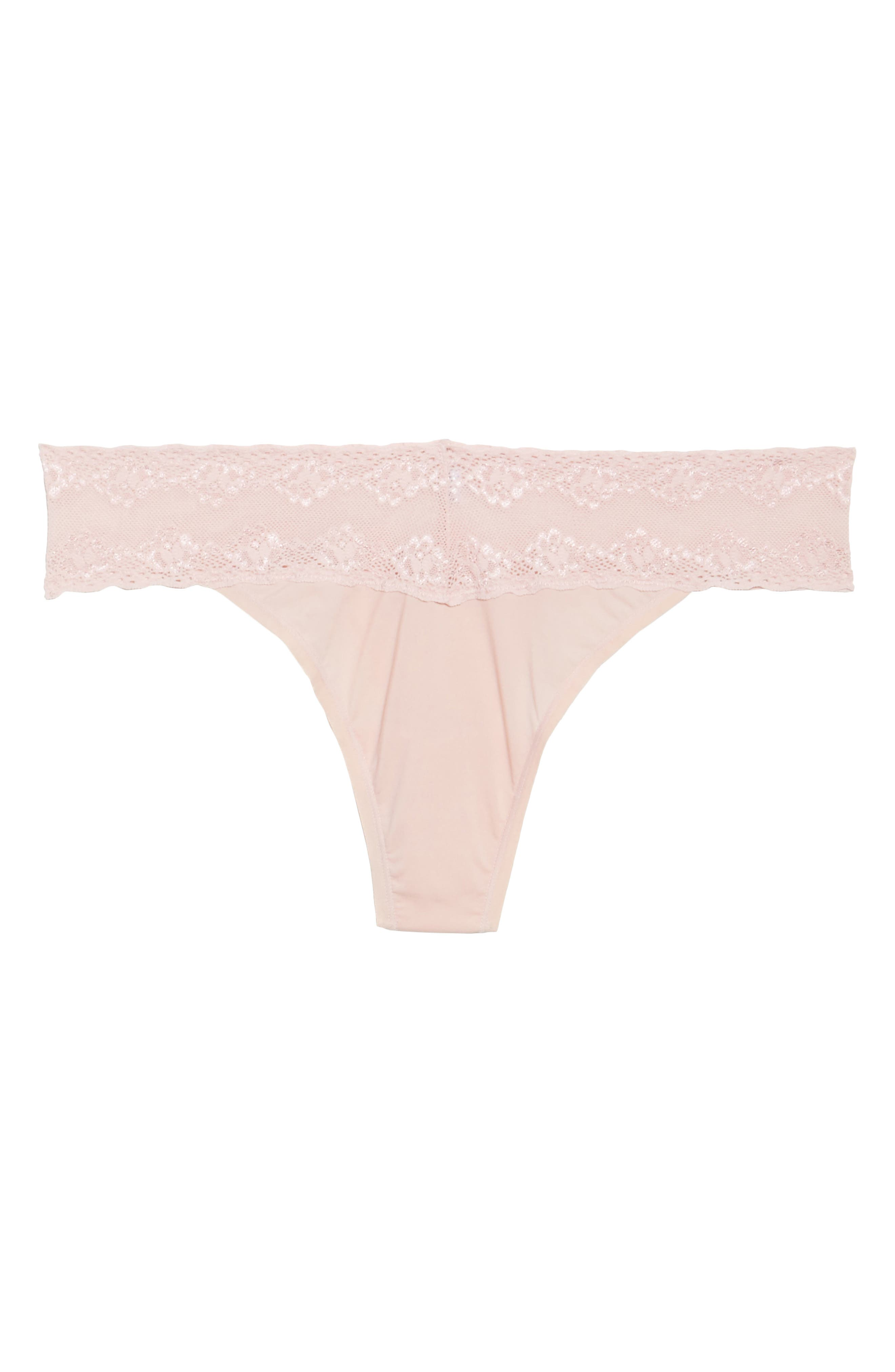 Bliss Perfection Thong,                             Alternate thumbnail 414, color,