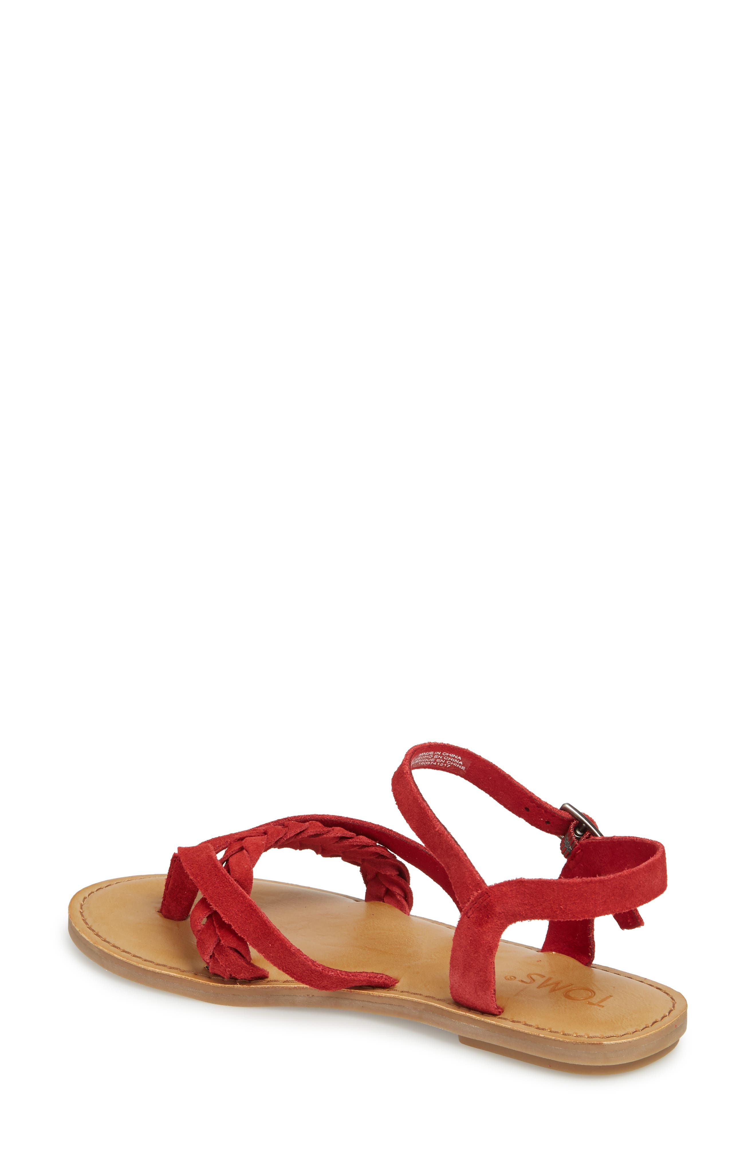 'Lexie' Sandal,                             Alternate thumbnail 2, color,                             601