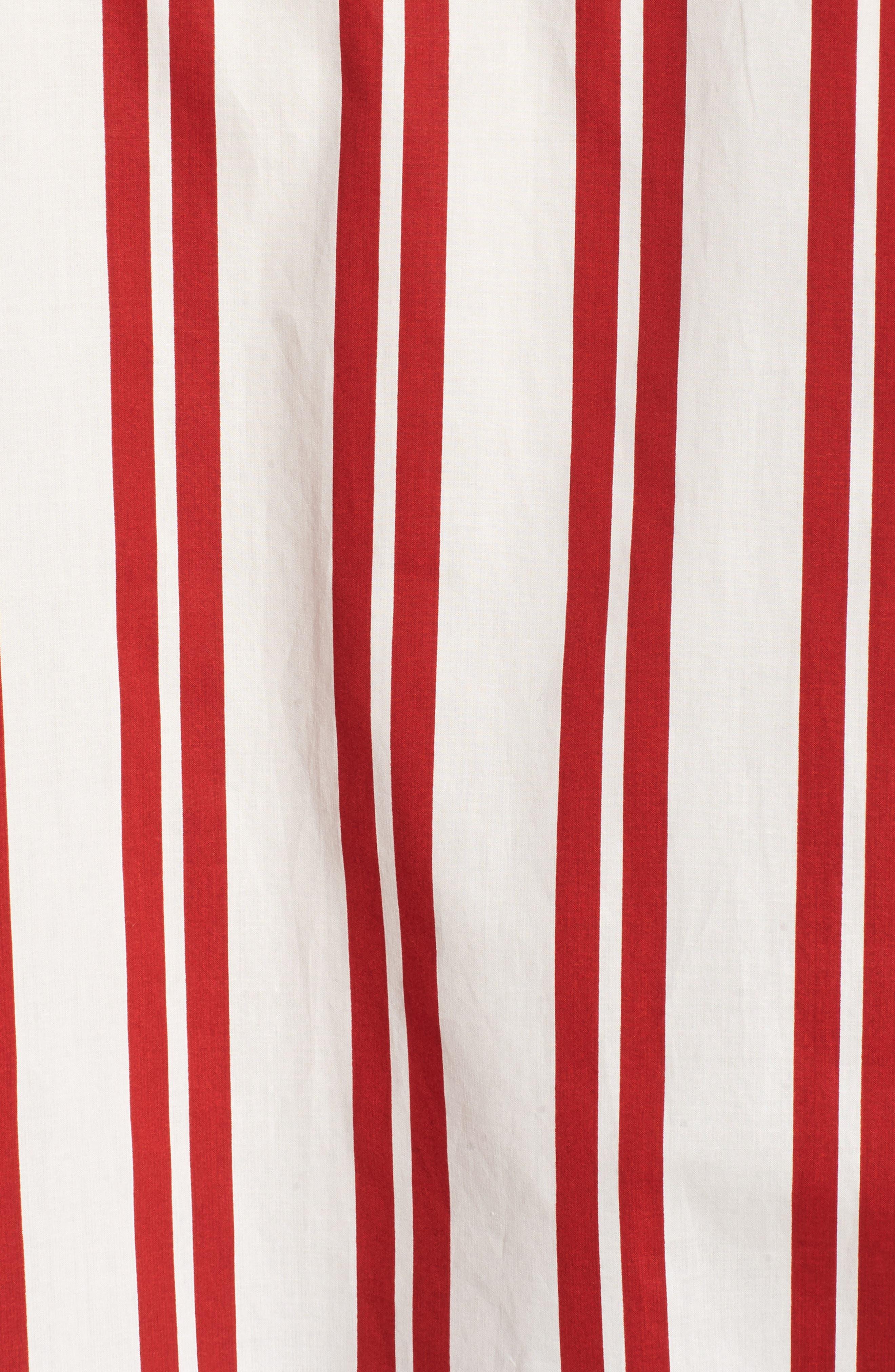 Hug Me Tie Hem Shirt,                             Alternate thumbnail 6, color,                             640