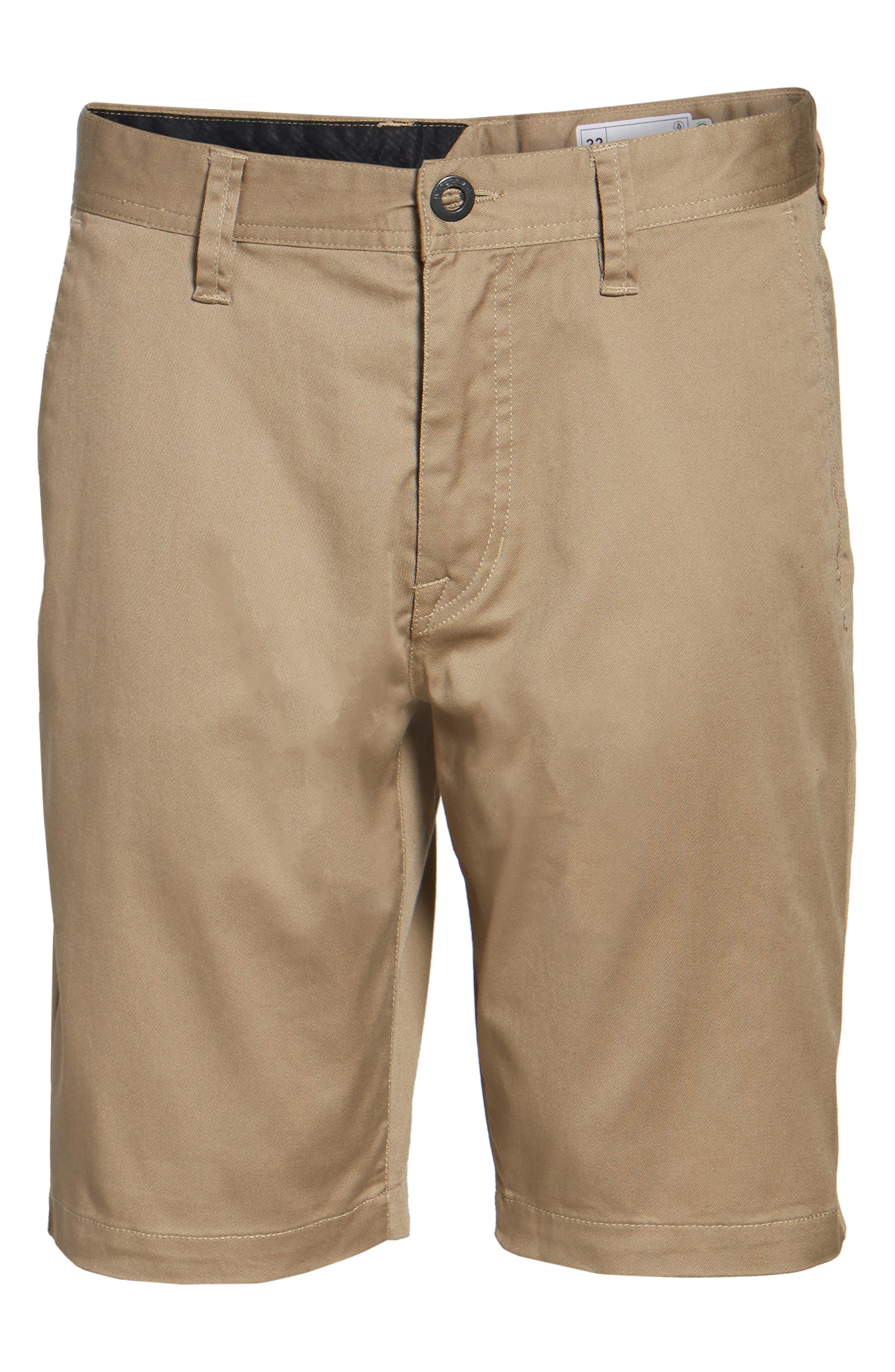 'Modern' Stretch Chino Shorts,                             Alternate thumbnail 58, color,