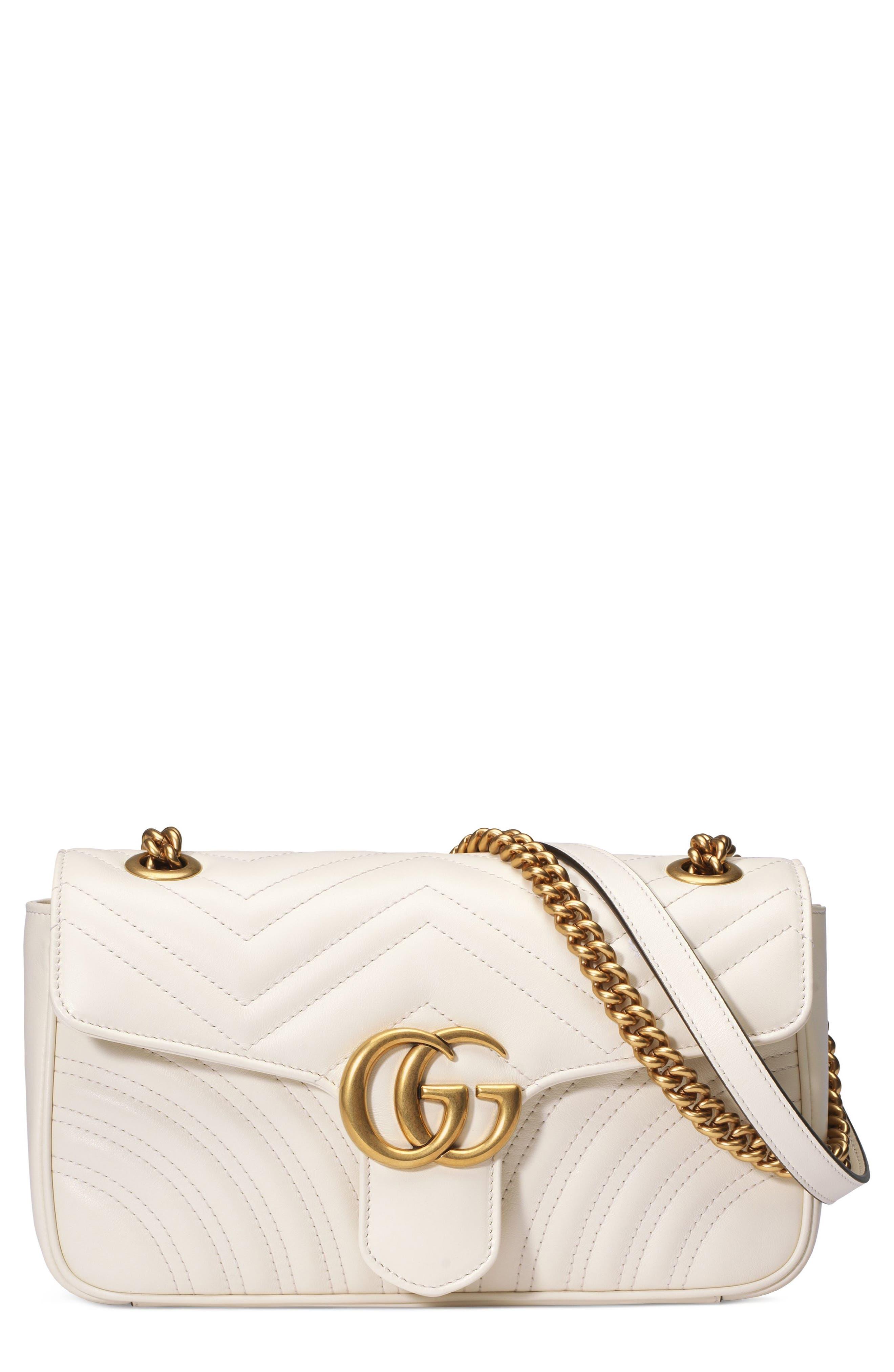 Small GG Marmont 2.0 Matelassé Leather Shoulder Bag,                             Main thumbnail 2, color,