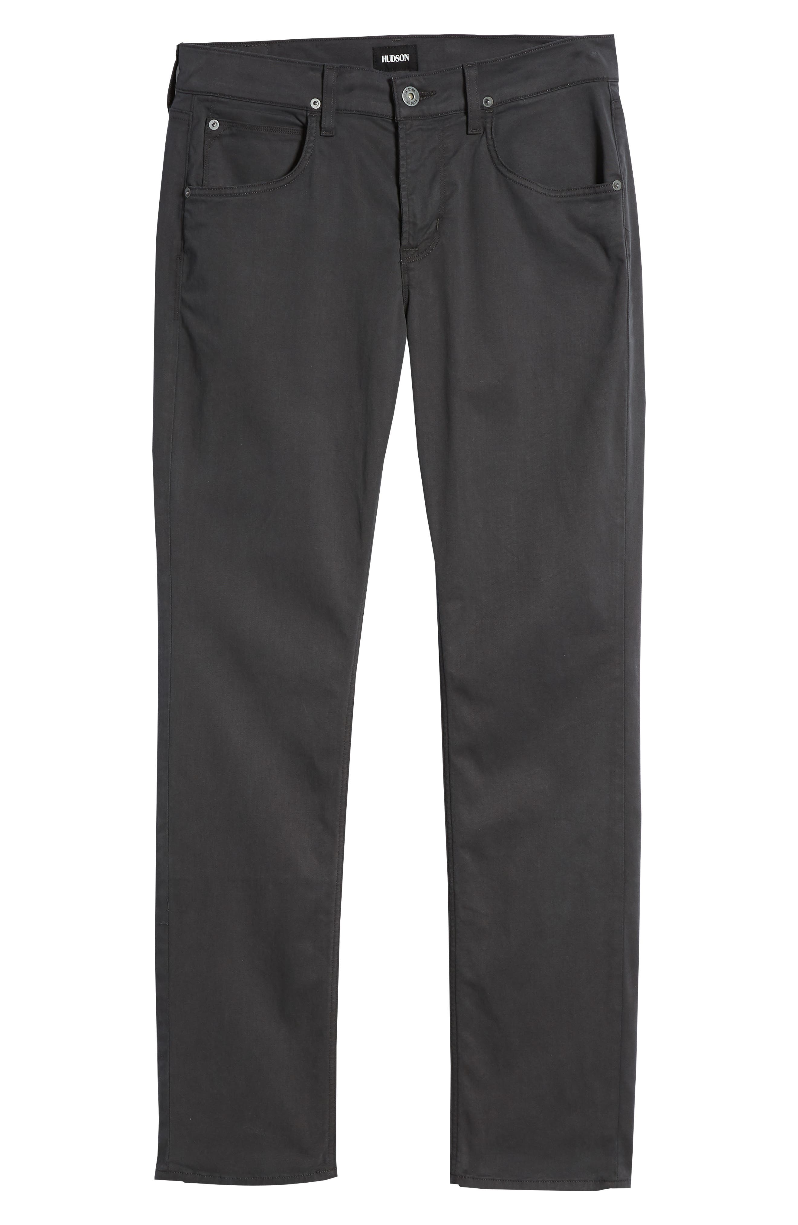 Byron Slim Straight Leg Pants,                             Alternate thumbnail 6, color,                             020