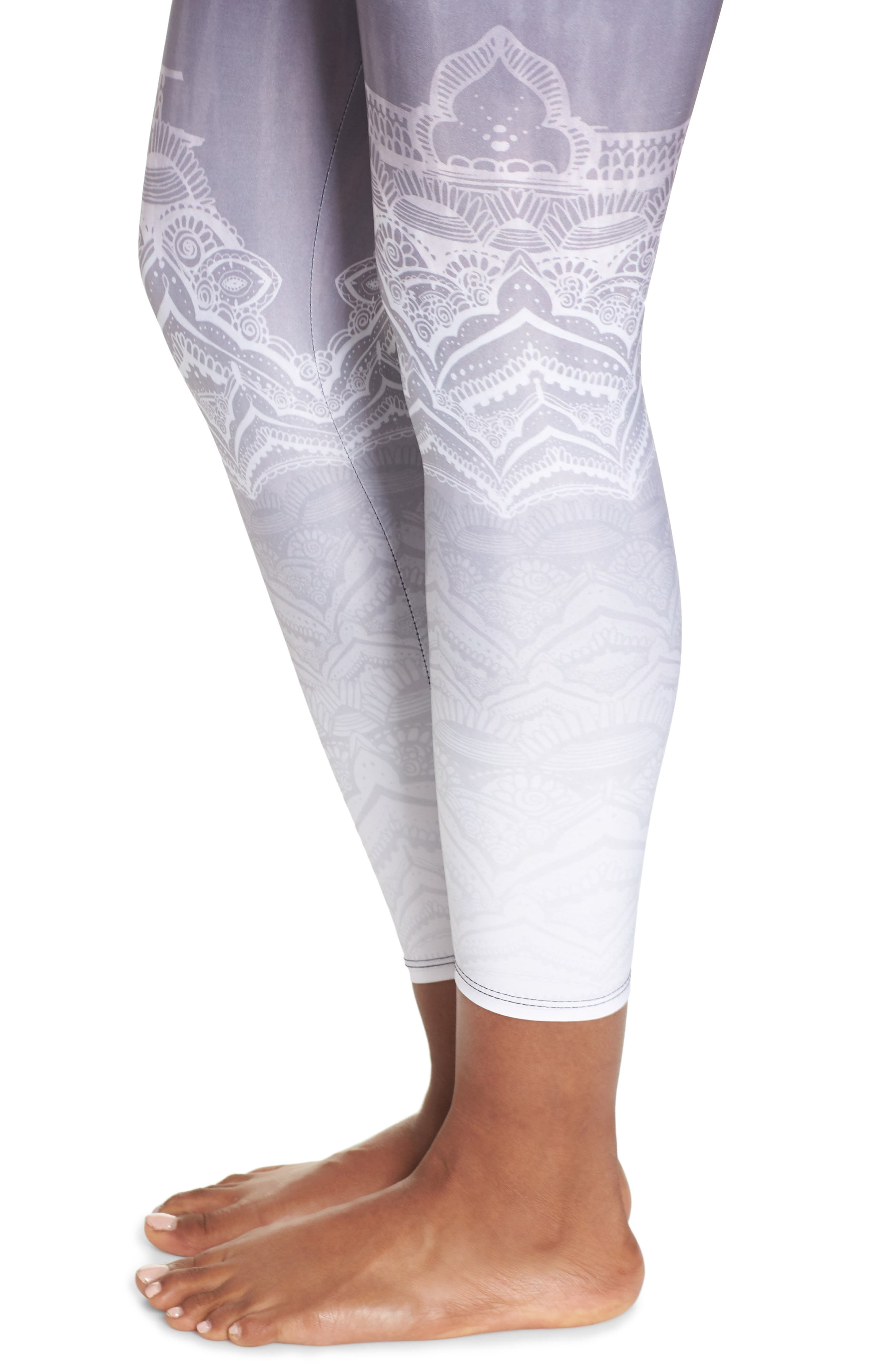 High Waist Leggings,                             Alternate thumbnail 4, color,                             SACRED