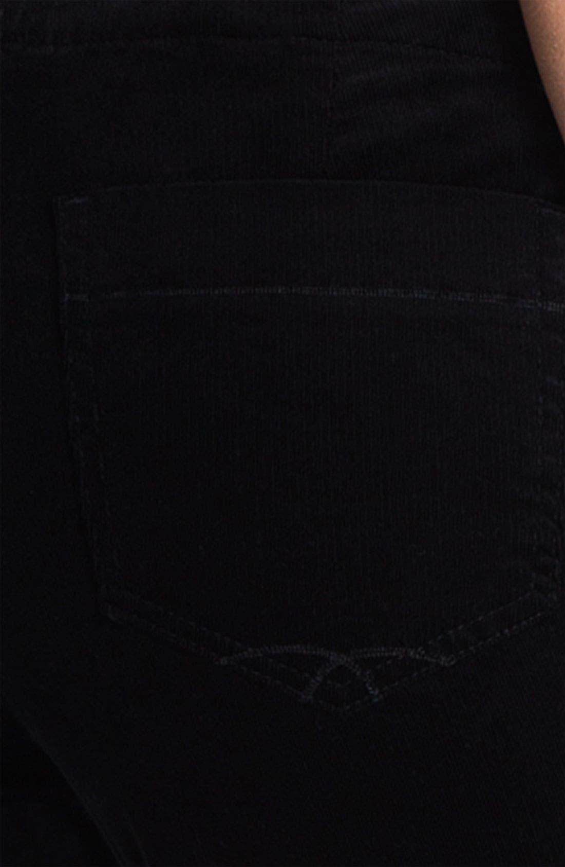 'Angel' Skinny Corduroy Pants,                             Alternate thumbnail 2, color,                             001