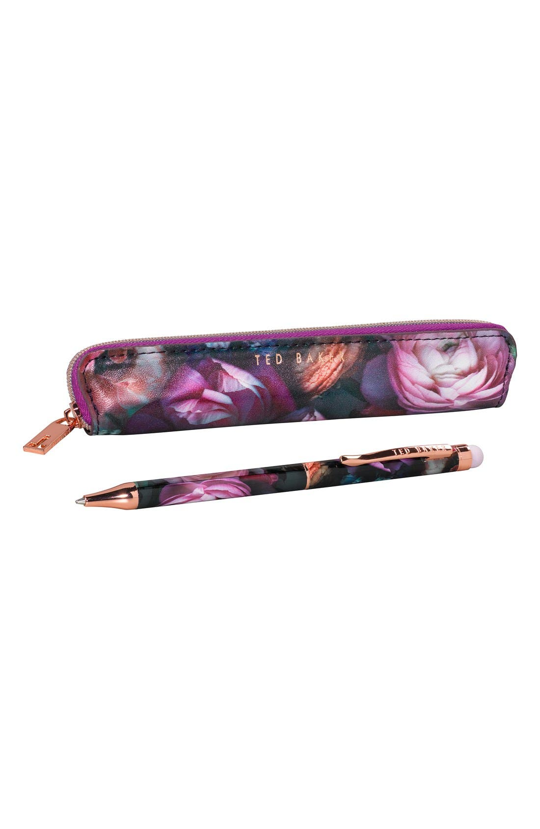 Wild and Wolf x Ted Baker London Touchscreen Stylus & Stylus Case,                             Alternate thumbnail 2, color,                             500